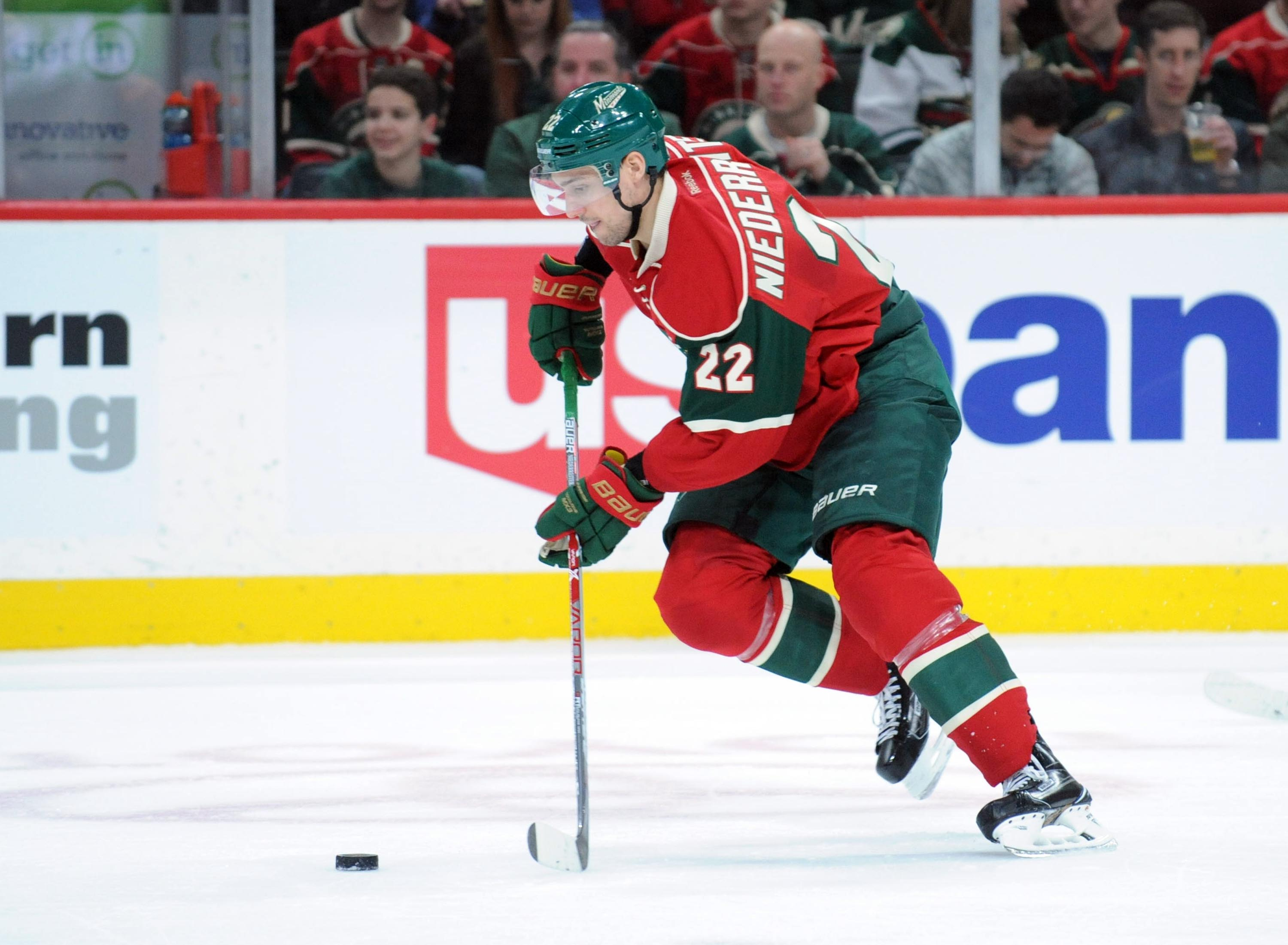 Minnesota Wild F Nino Niederreiter Enjoying Strong Start to 2017