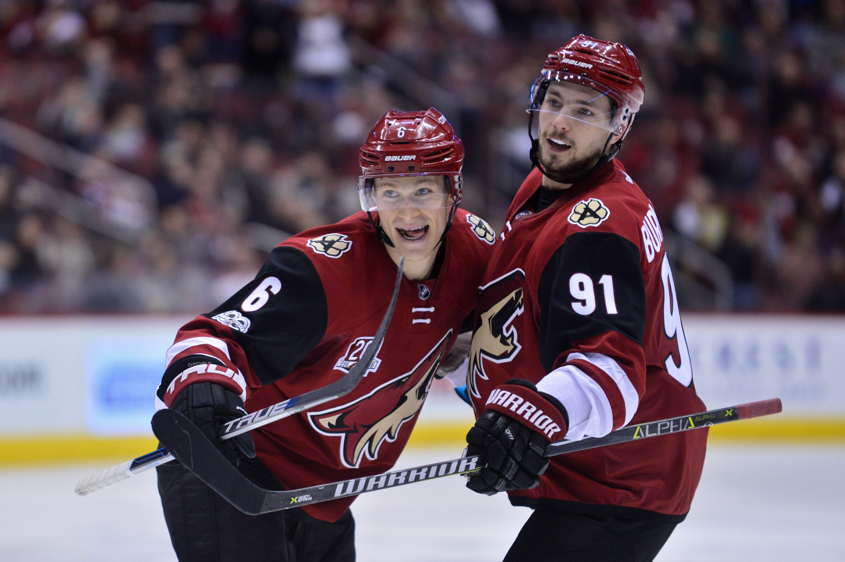 Arizona Coyotes: Jakob Chychrun Finding Offensive Touch