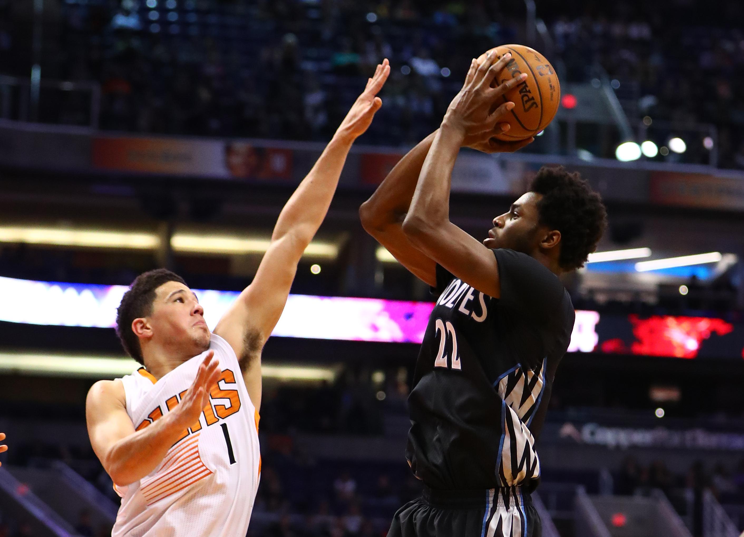 Timberwolves Wrap: Wiggins beats Suns at buzzer
