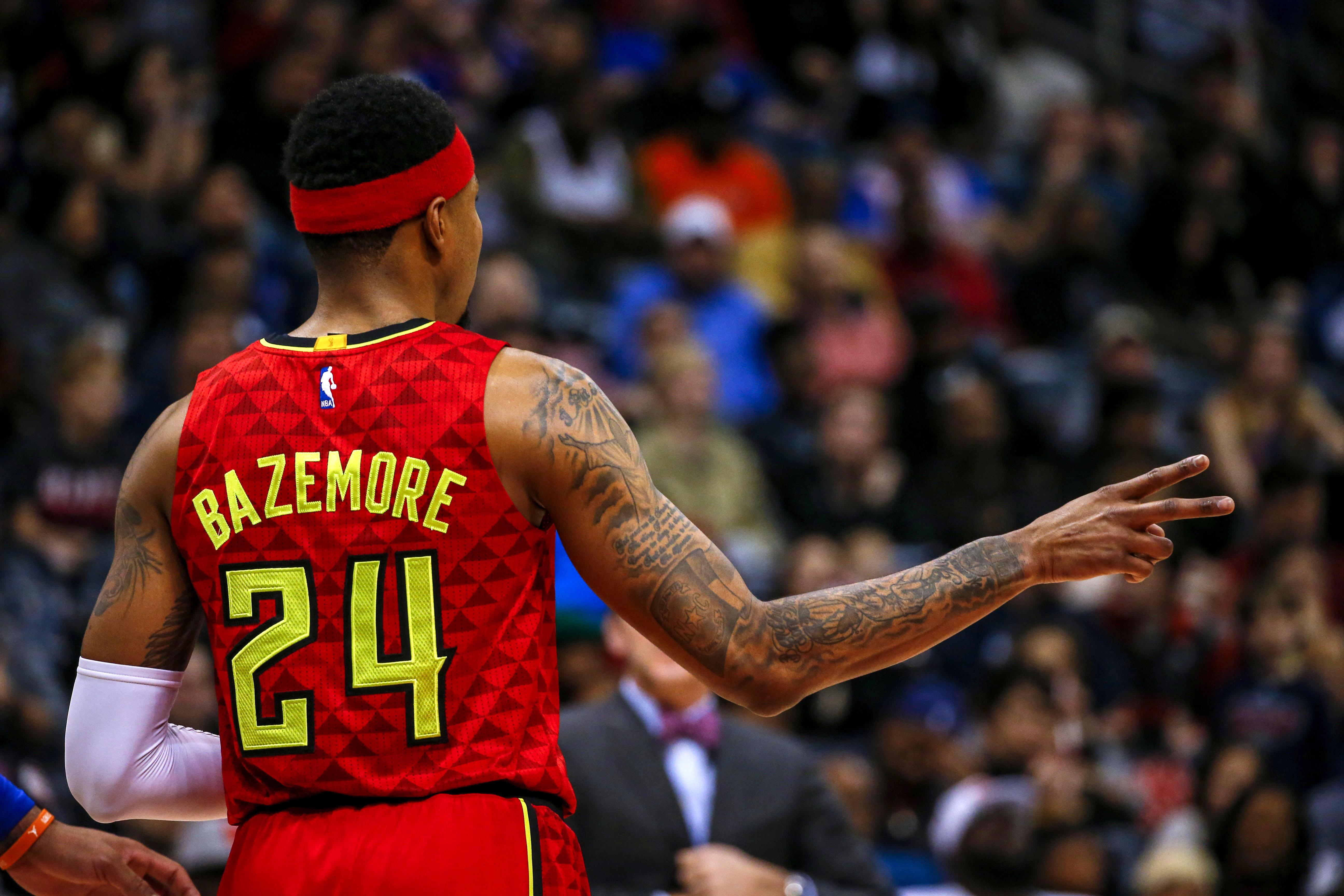 Atlanta Hawks: Kent Bazemore's Outstanding January