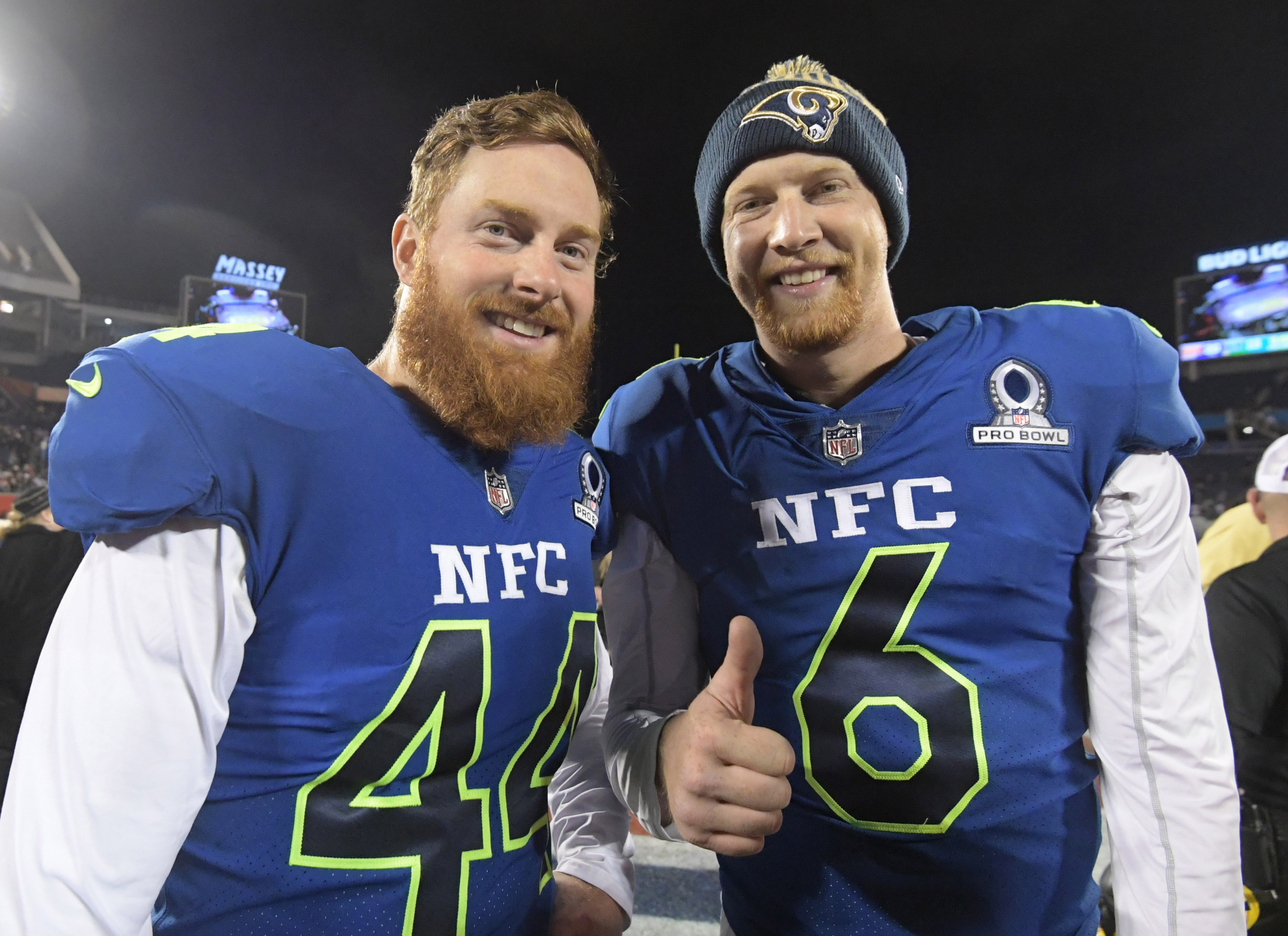 Rams' Johnny Hekker Shares Hilarious Story About Being Mistaken For Andy Dalton