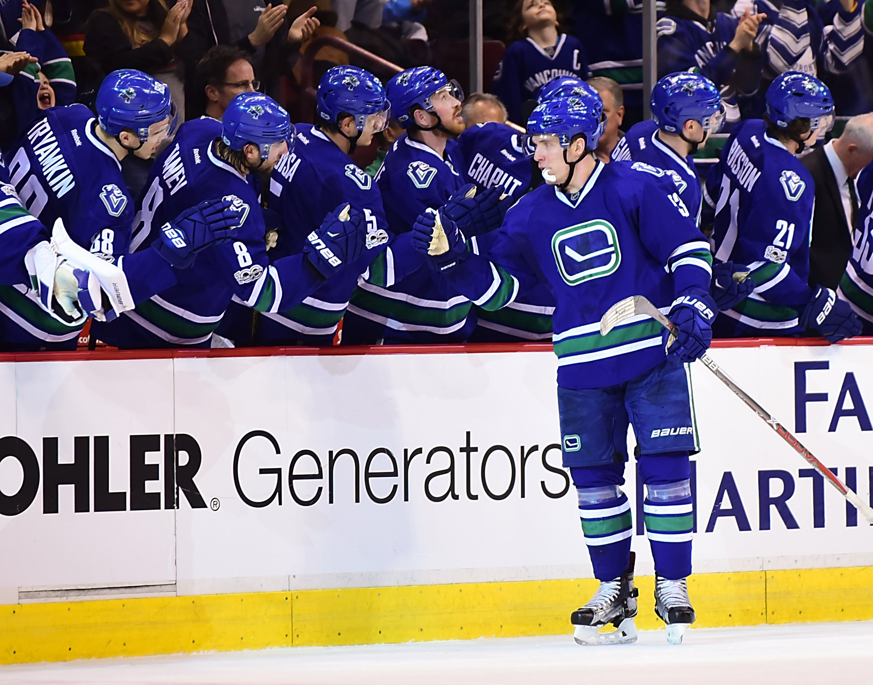 NHL Daily: Brendan Smith, Taylor Hall, Vancouver Canucks