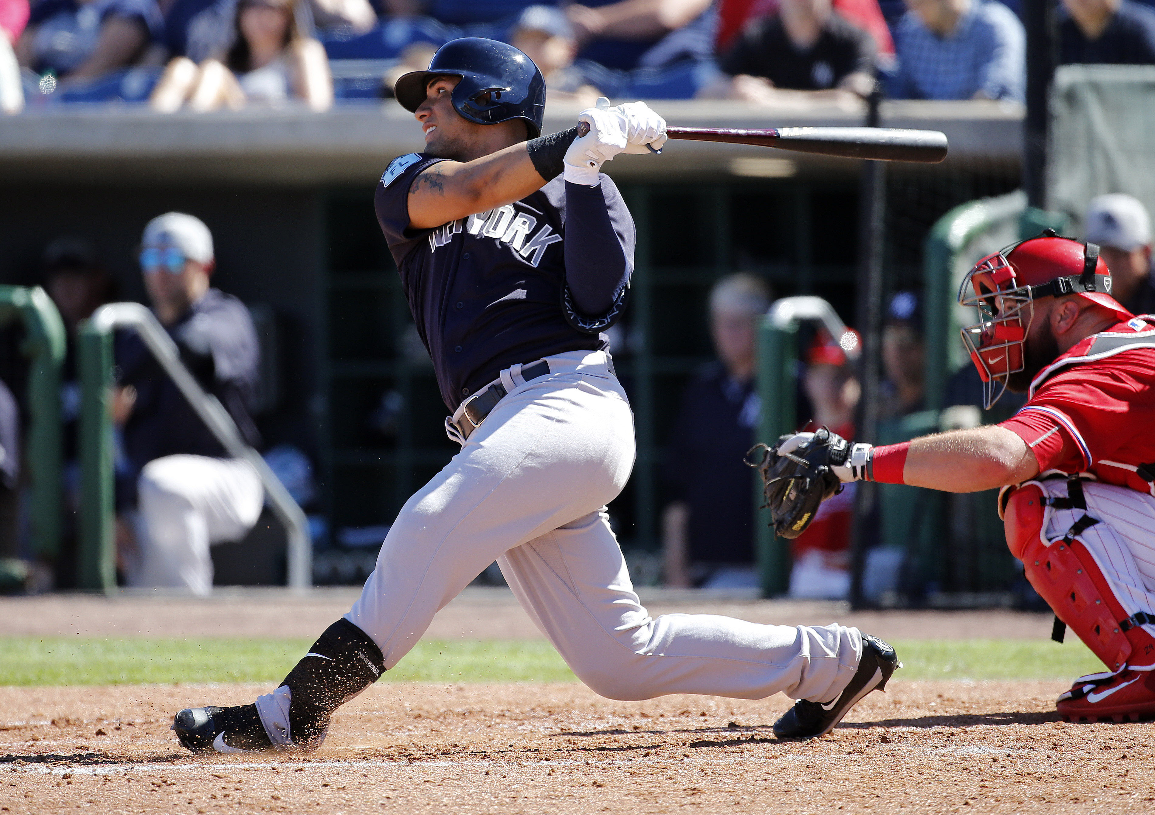 New York Yankees Scouting Report on SS Gleyber Torres
