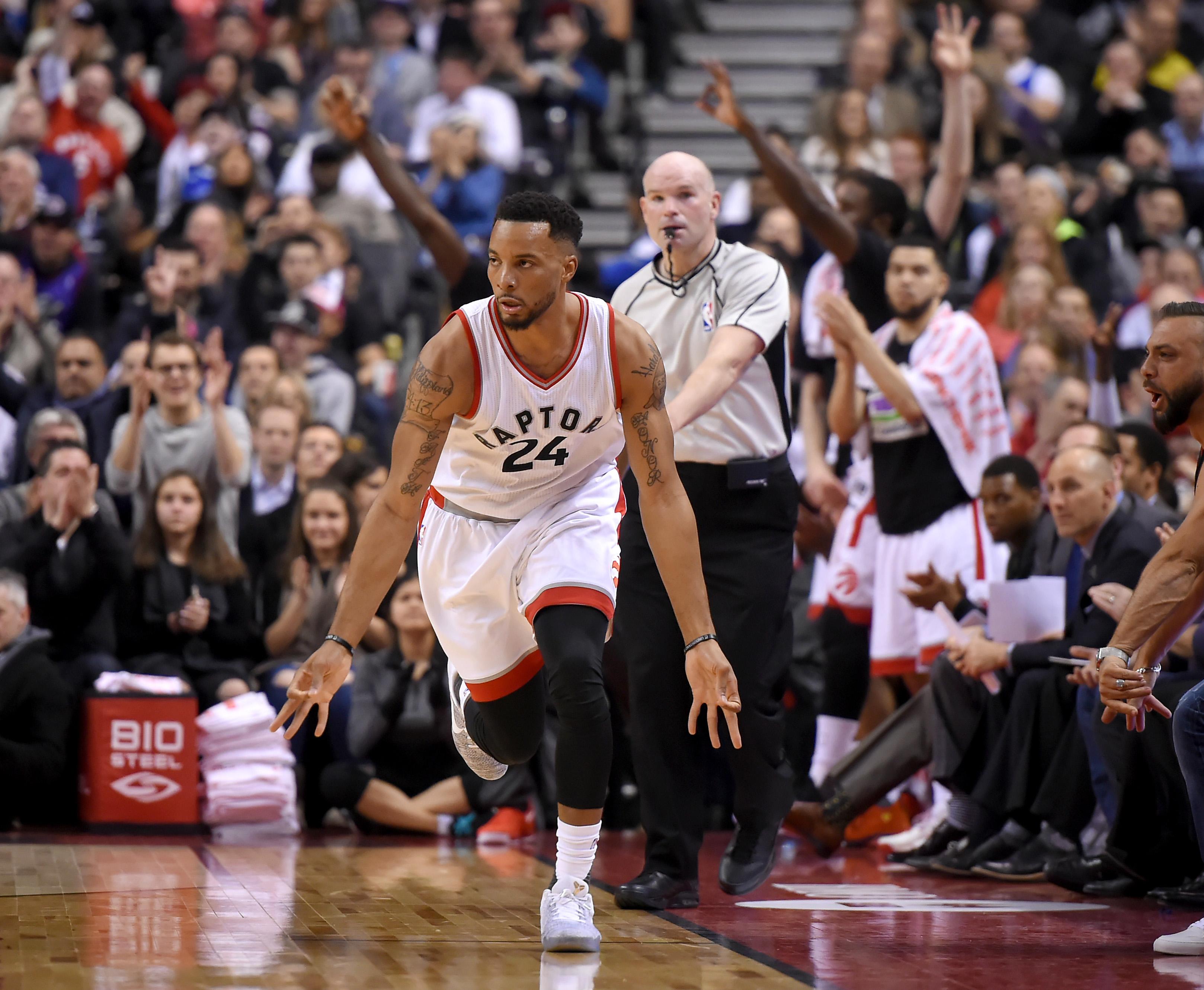 Toronto Raptors: Norman Powell Adjusting To Larger Role