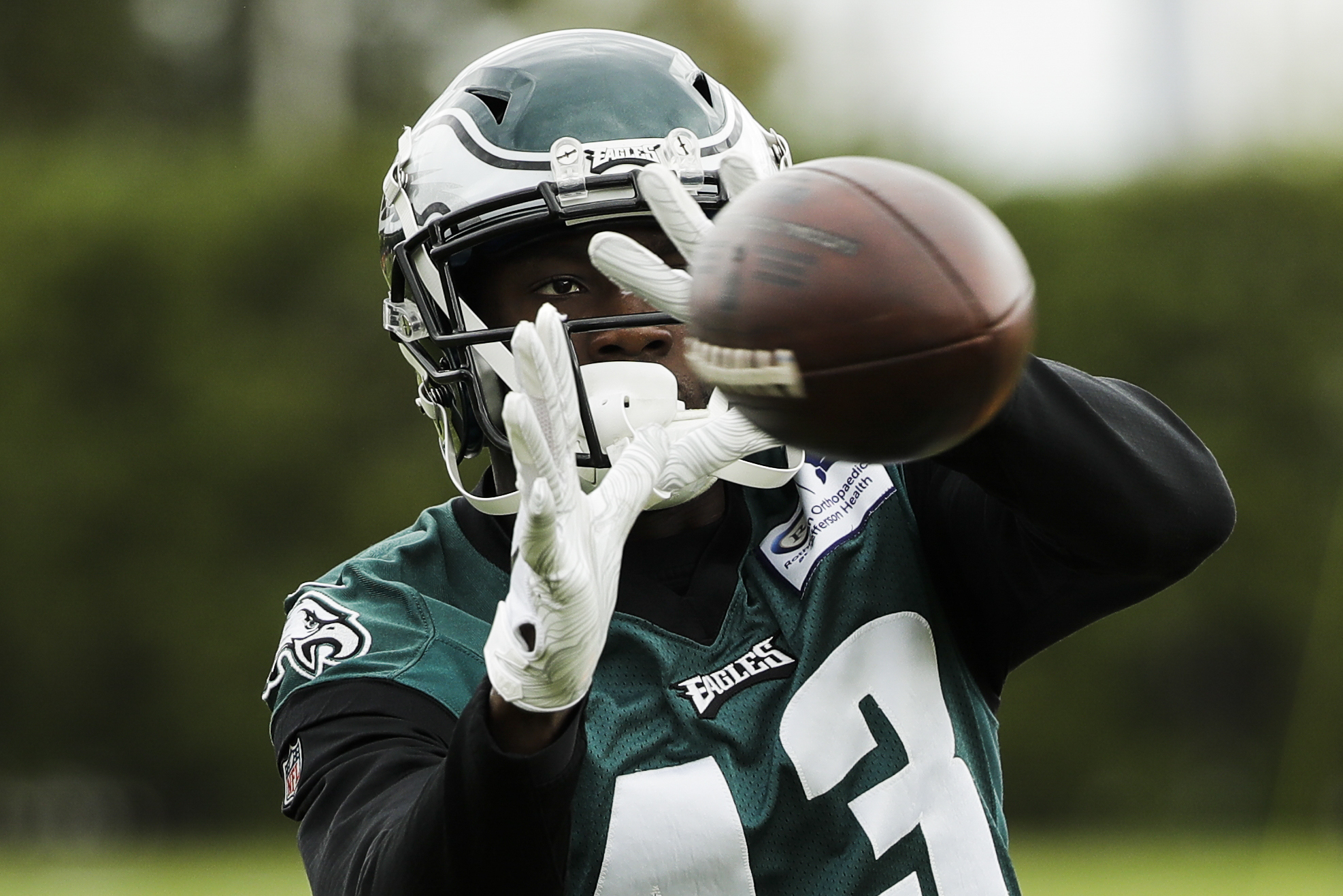 Without DeSean Jackson, Eagles struggling at wide receiver