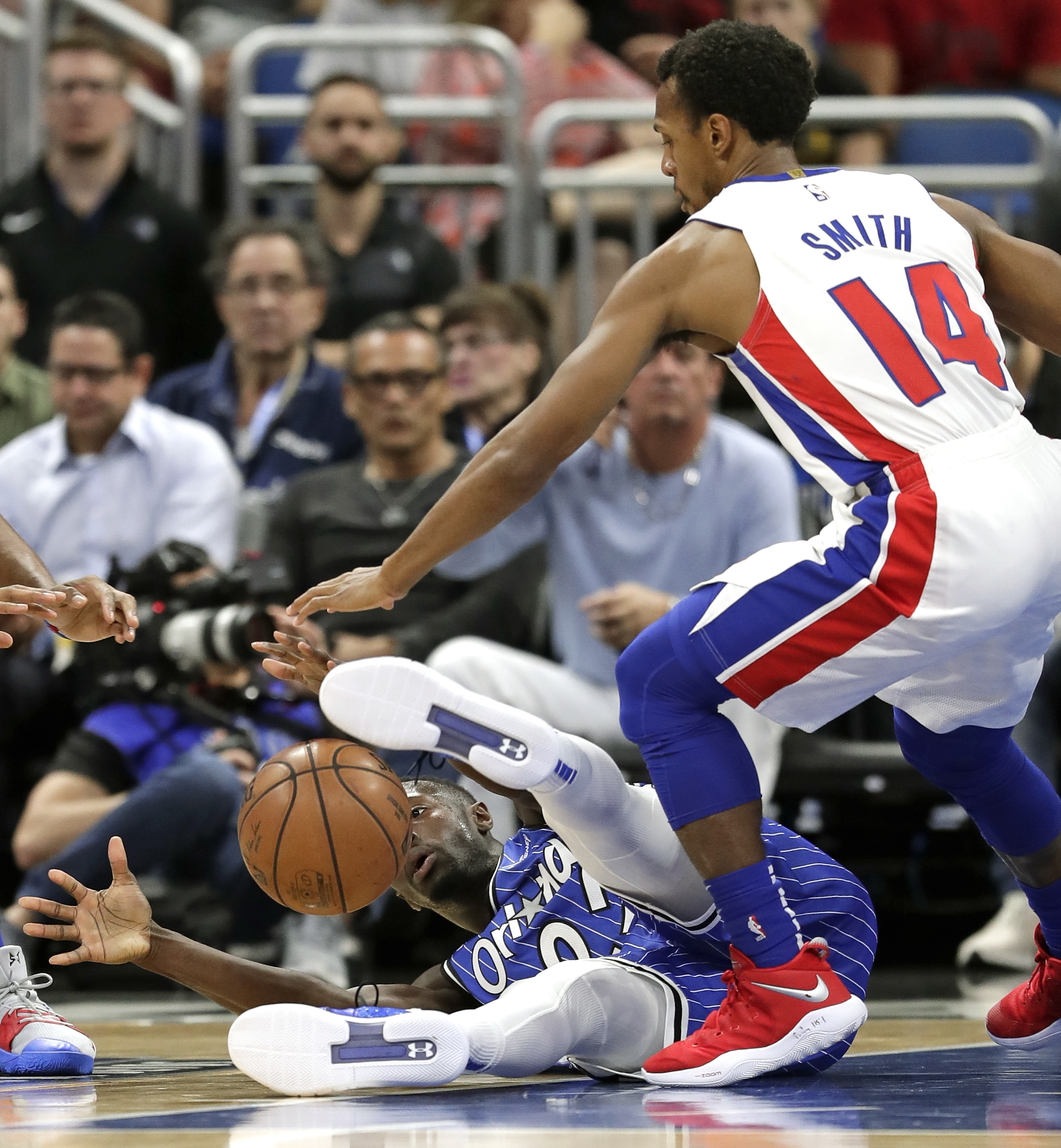 Drummond has 23 points, 19 rebounds; Pistons beat Magic