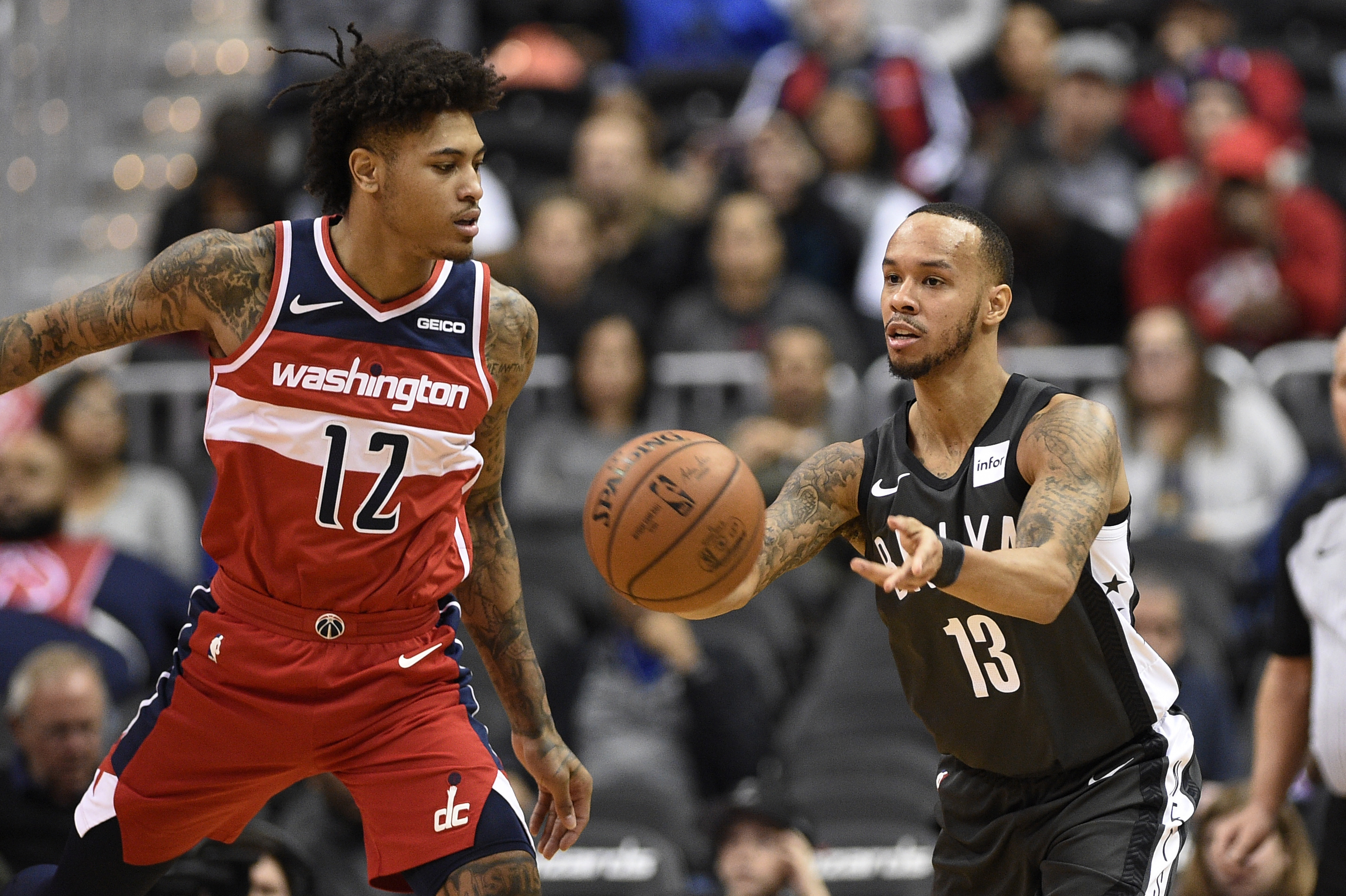 Wall scores 30 points, Wizards handed Nets 6th straight loss