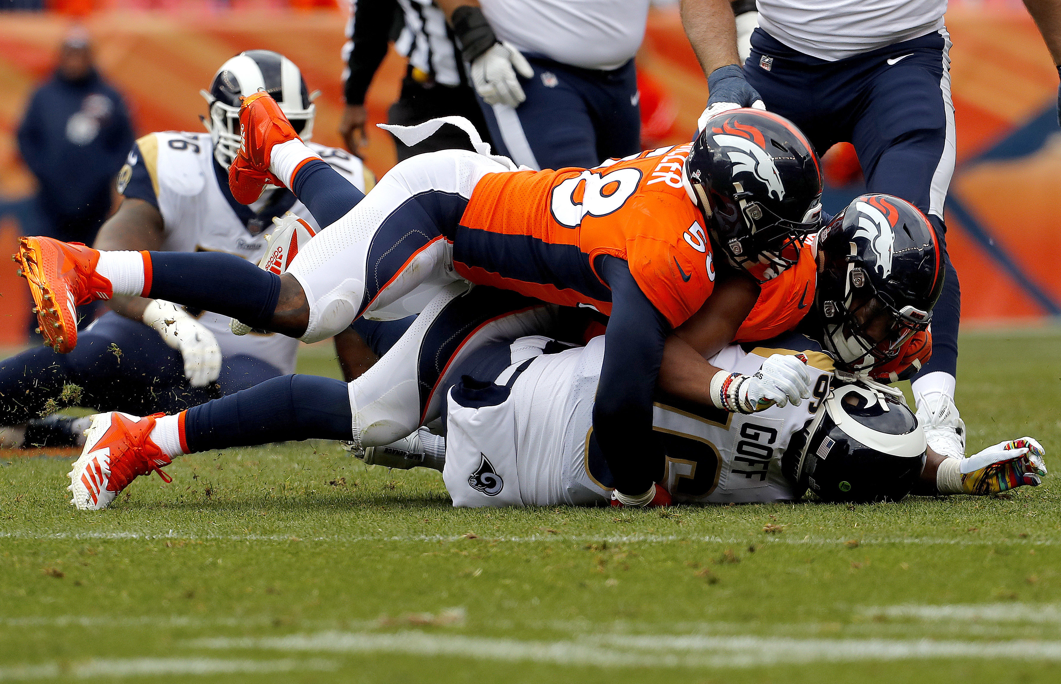 Denver pass-rushing partners Miller and Chubb best in NFL