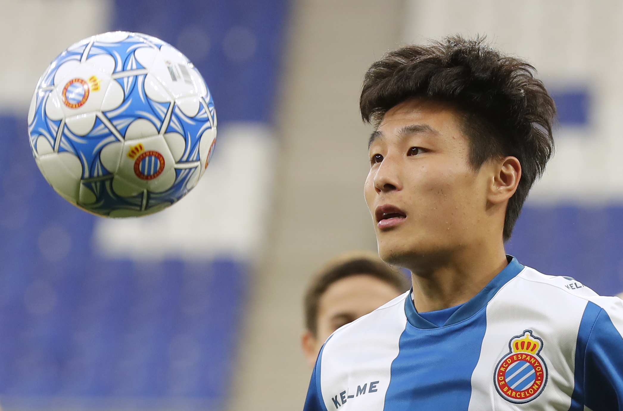 Chinese sensation Wu Lei faces Messi in Barcelona derby