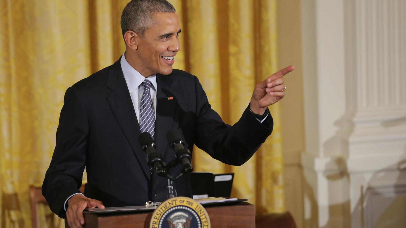 Barack Obama (kind of) welcomes Tim Howard to the Colorado Rapids