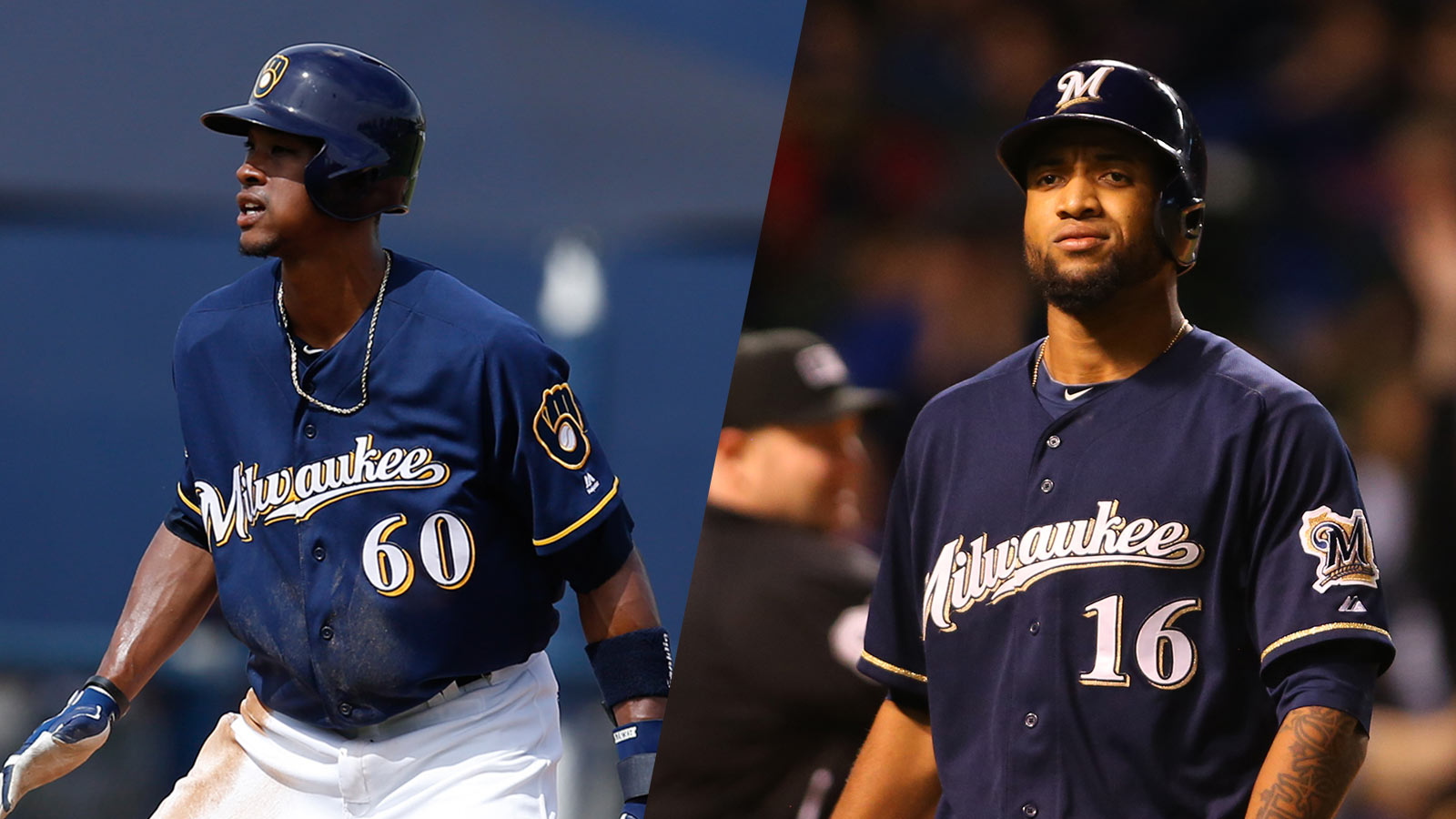 Brewers reinstate OF Santana from DL, option Broxton to Triple-A