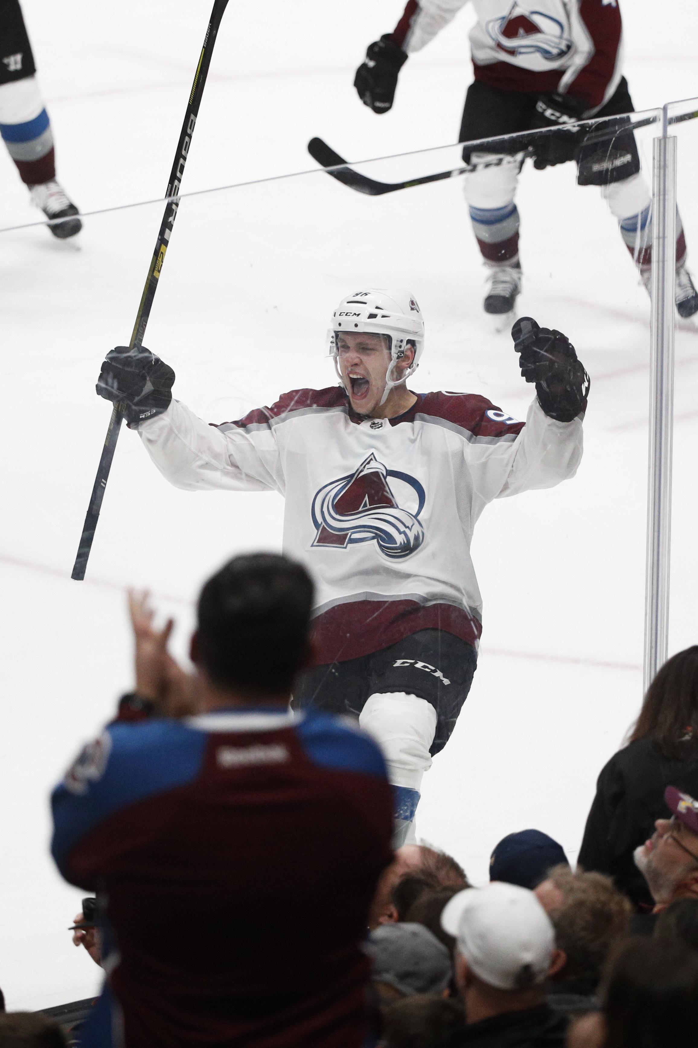Avs forward Mikko Rantanen fined by NHL for embellishment