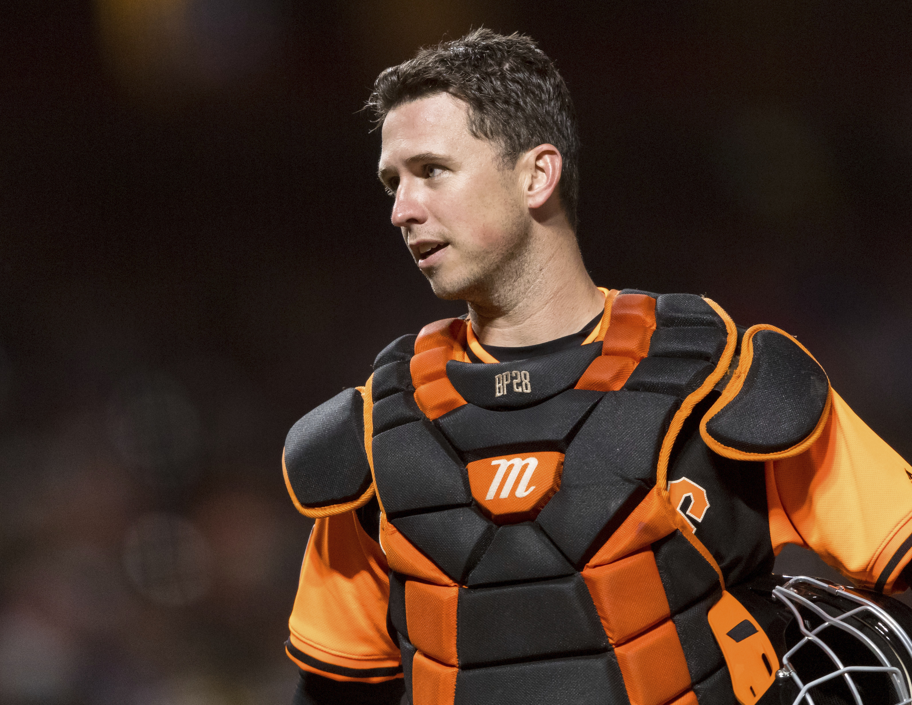 Posey is healthy and hopeful of handling full catching load