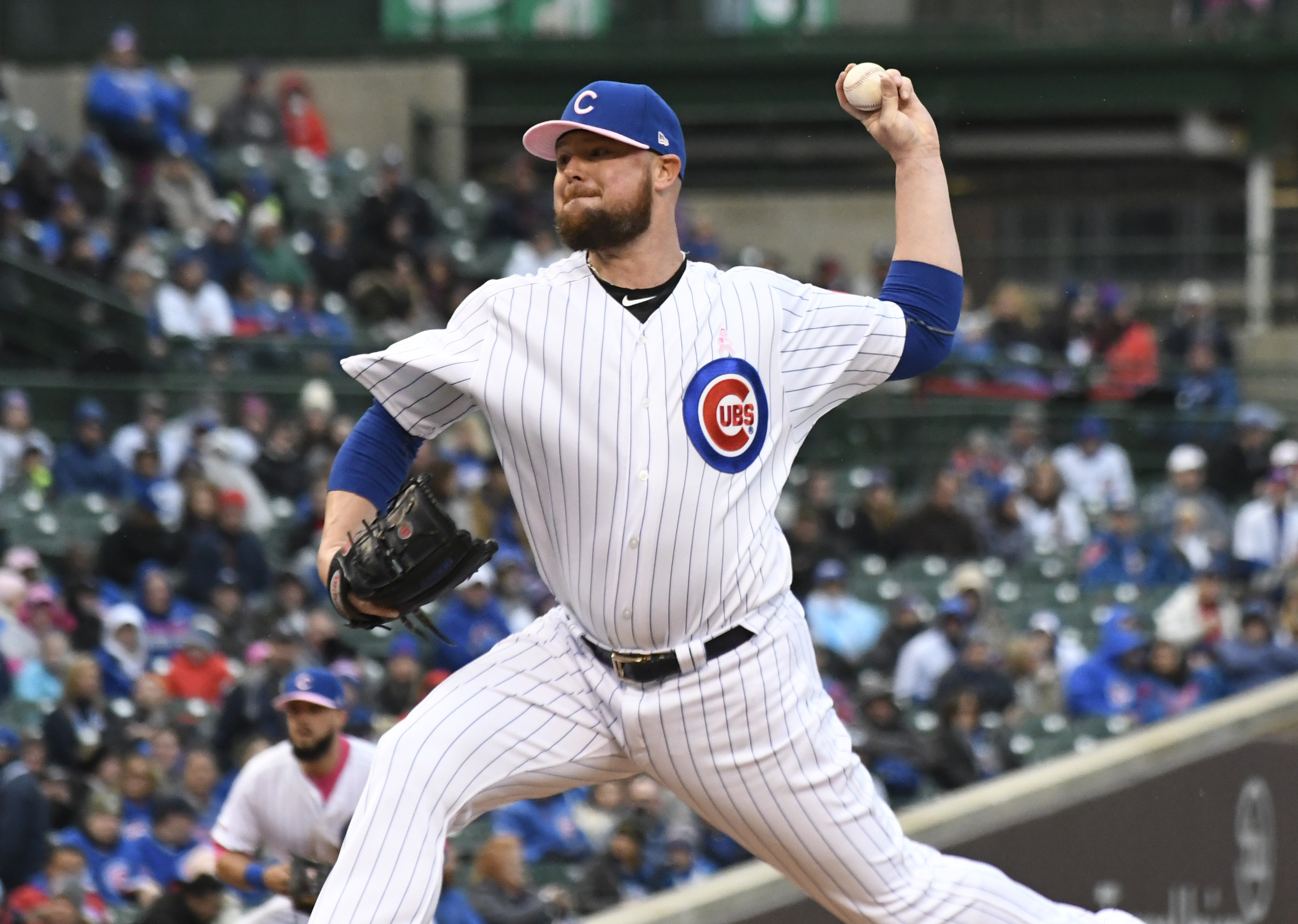 Lester pitches Cubs past Brewers 4-1 for series win