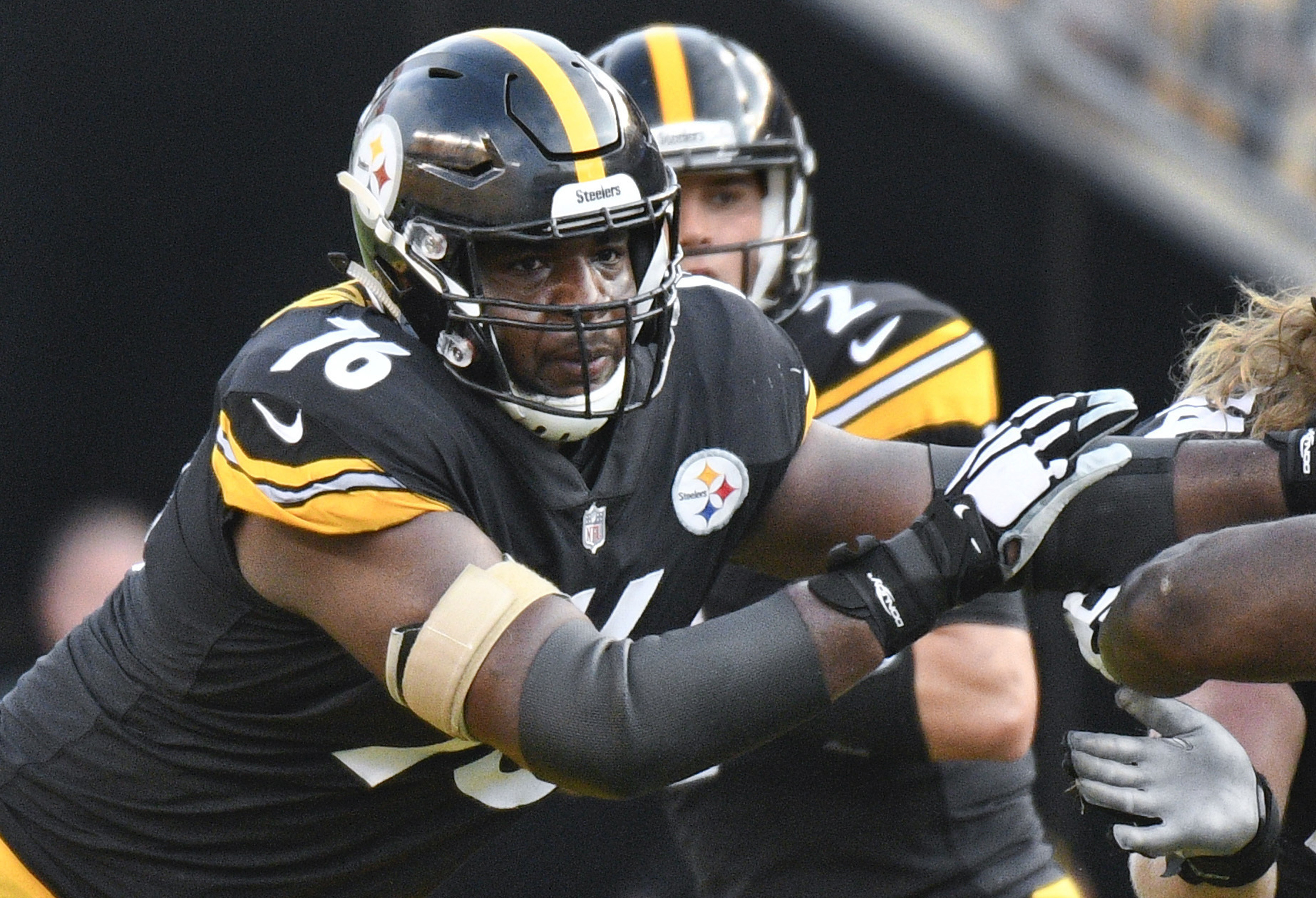 Steelers rookie Okorafor ready to fill in if necessary