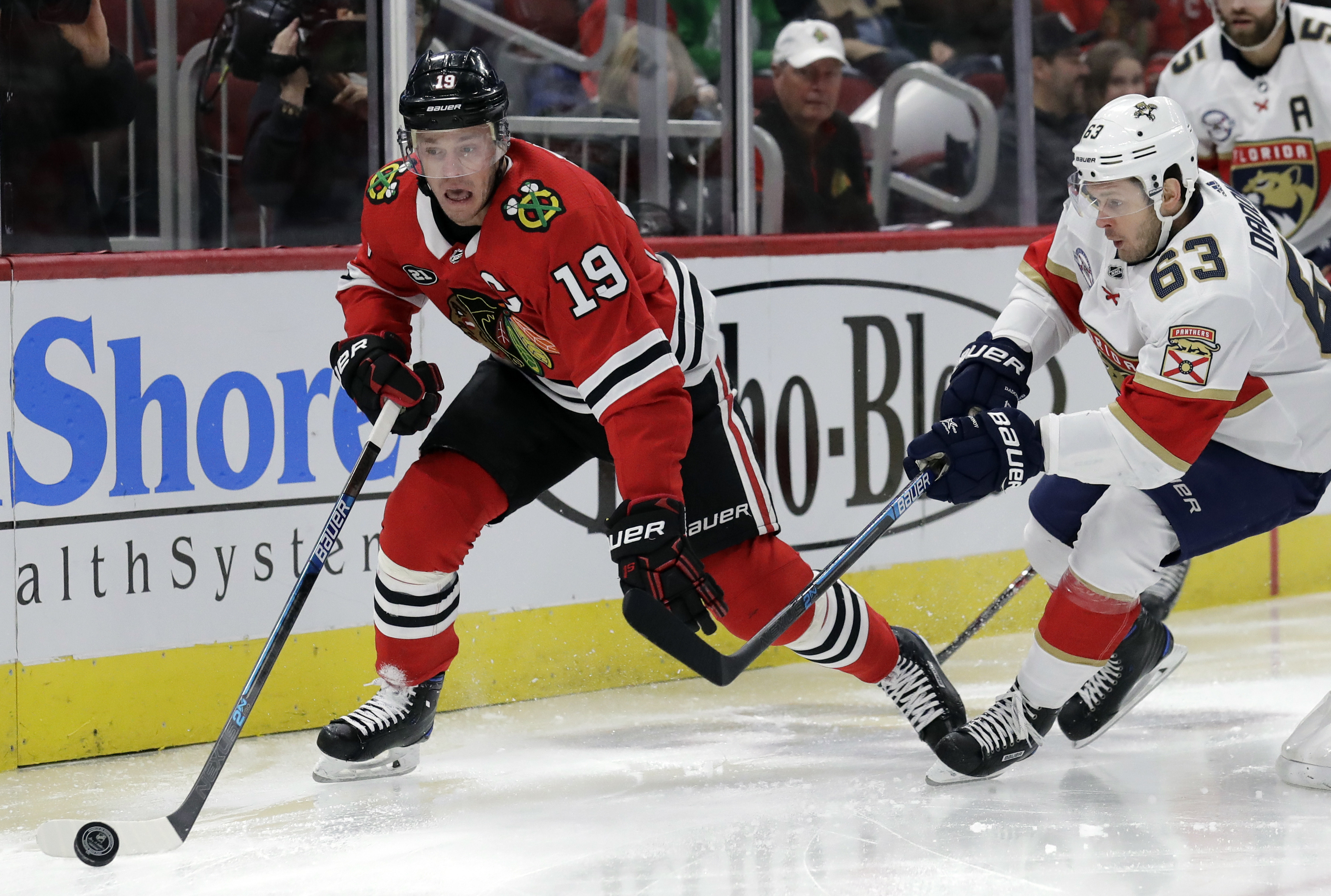 Hawryluk nets first 2 NHL goals, Panthers beat Chicago 6-3