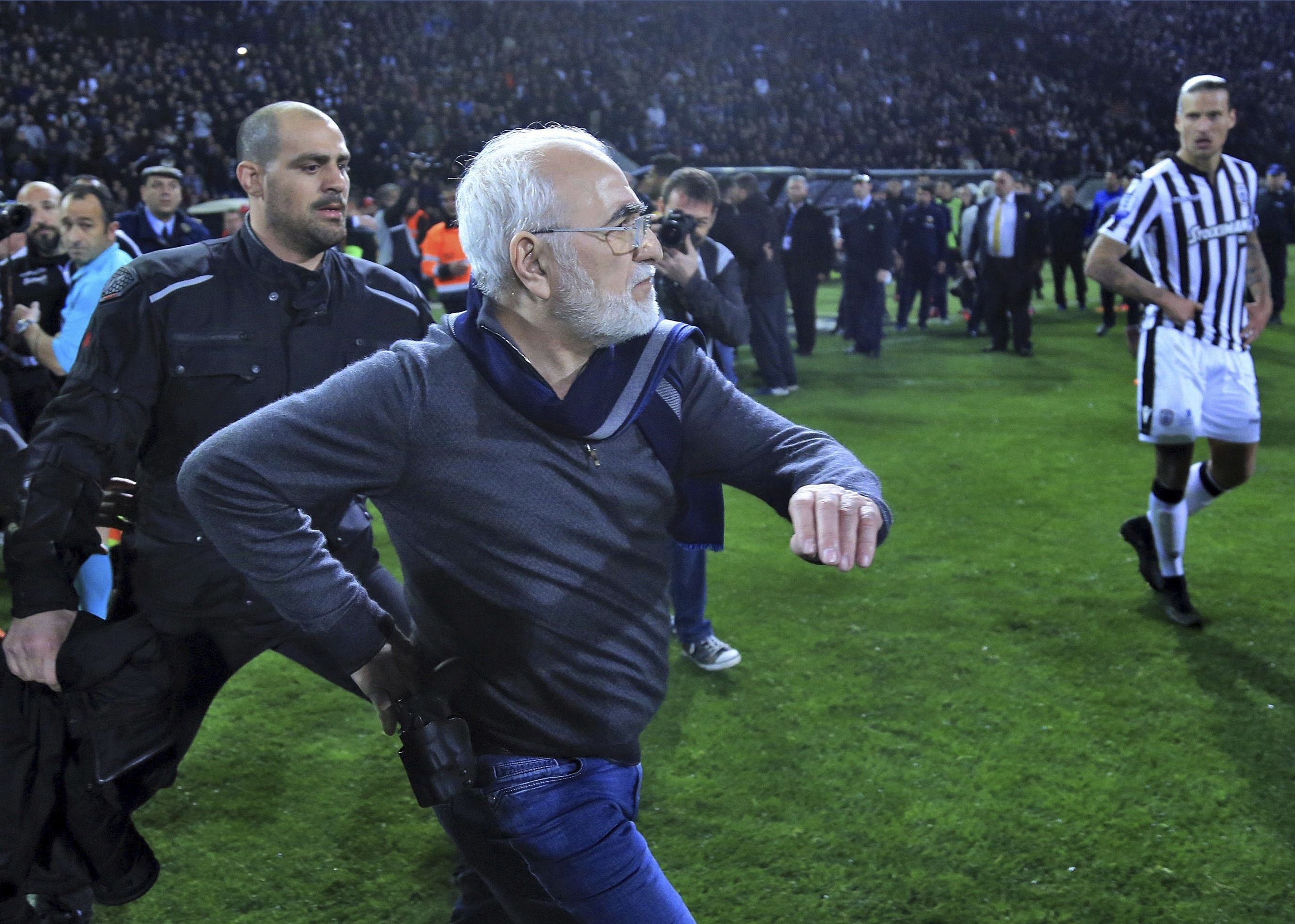 Greece imports referees as fix for soccer violence