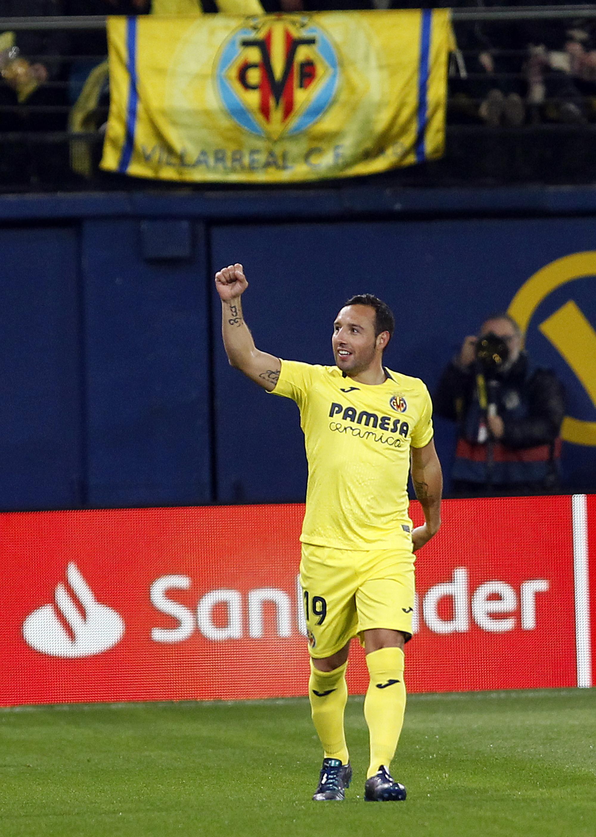 Cazorla scores 2 as Villarreal draws 2-2 with Real Madrid
