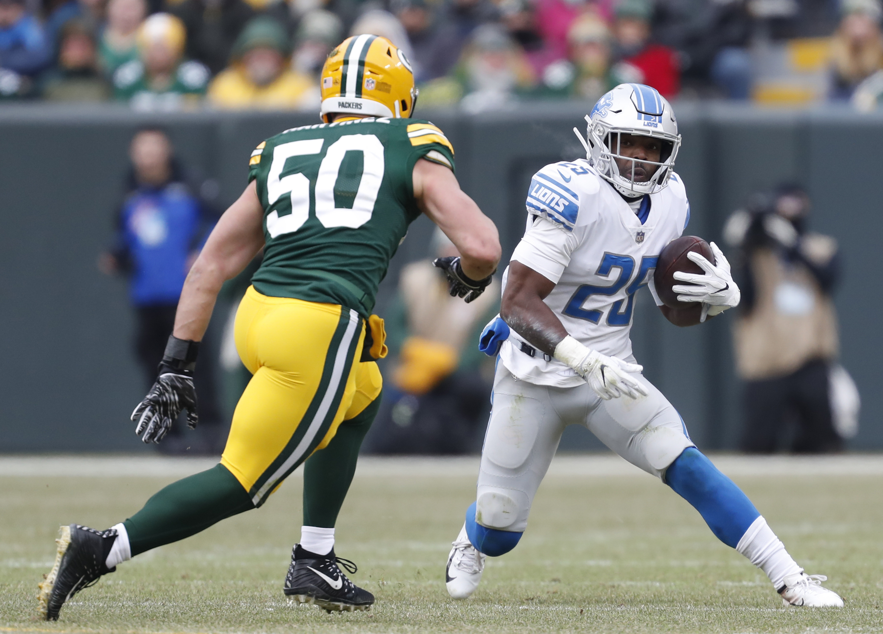 Broncos sign ex-Lions running back Theo Riddick