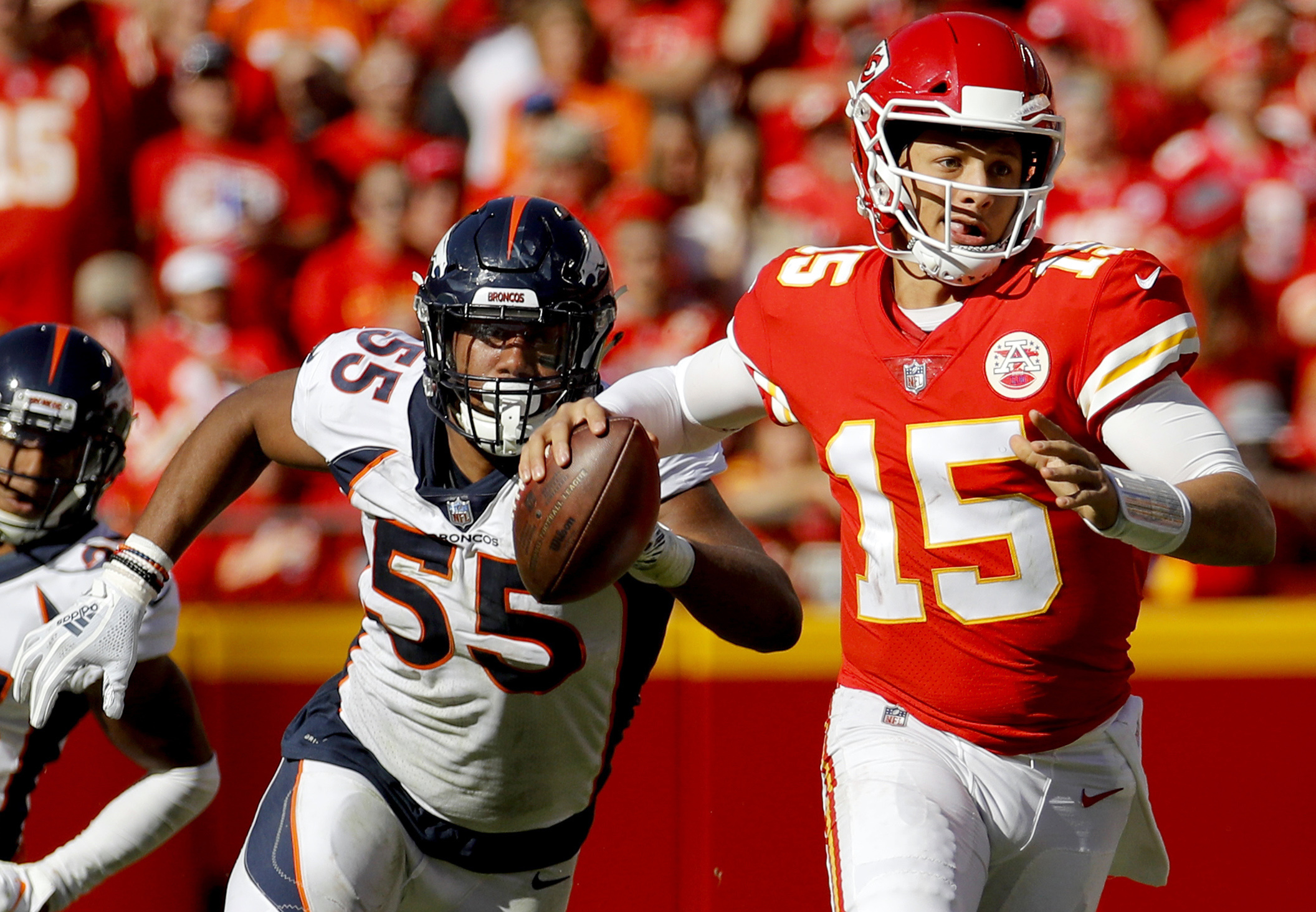 Broncos rookie edge rusher Chubb making up for slow start