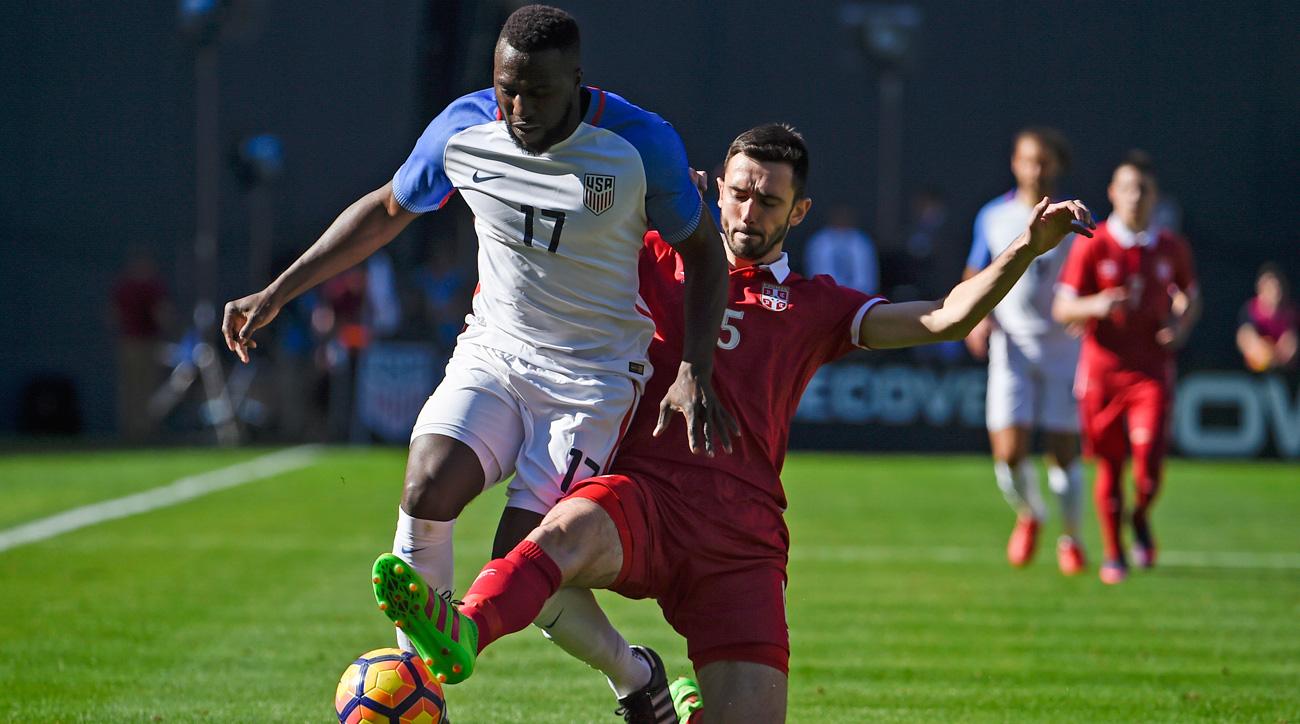 USA's scoreless draw vs. Serbia offers glimpse into Arena's preferences