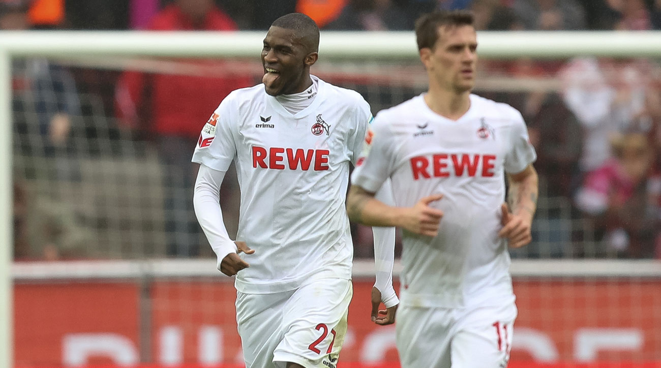 There's nothing modest about Anthony Modeste's goal-scoring binge for Cologne