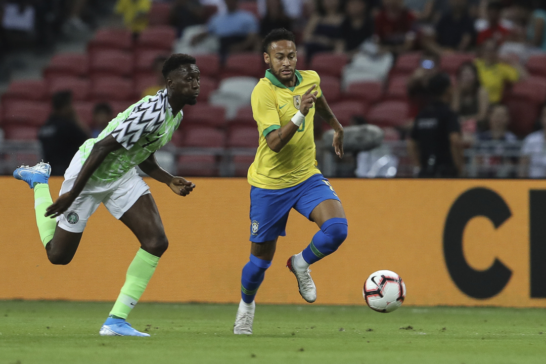 Neymar out of Brazil's squad for friendly against Argentina
