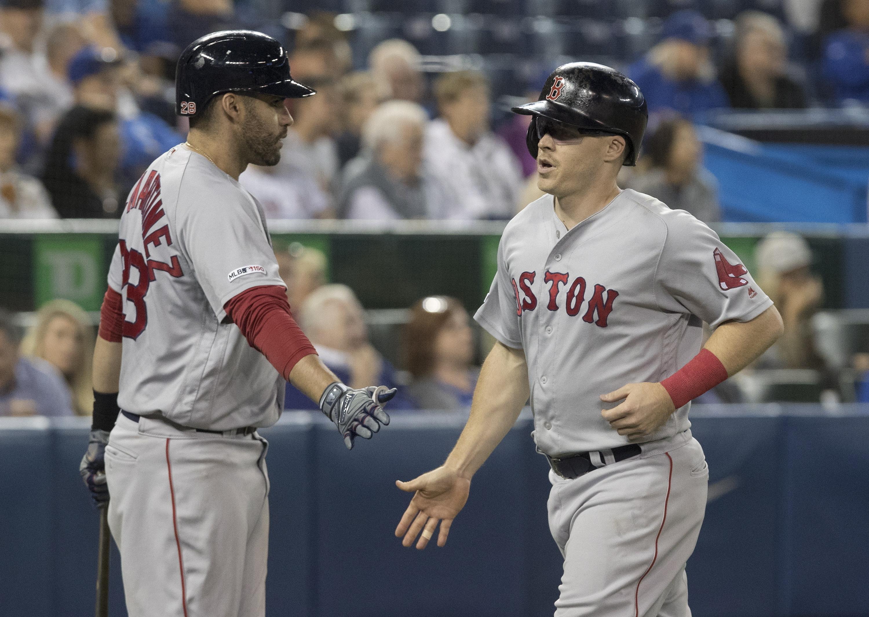 Bogaerts reaches 50 doubles, Red Sox beat Blue Jays 7-4