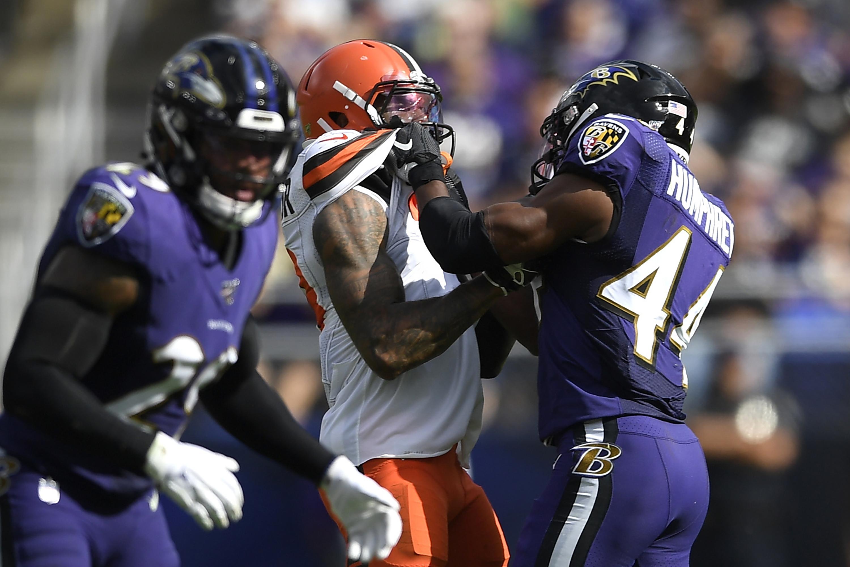 Browns shocked, amused Ravens denying Humphrey choked OBJ