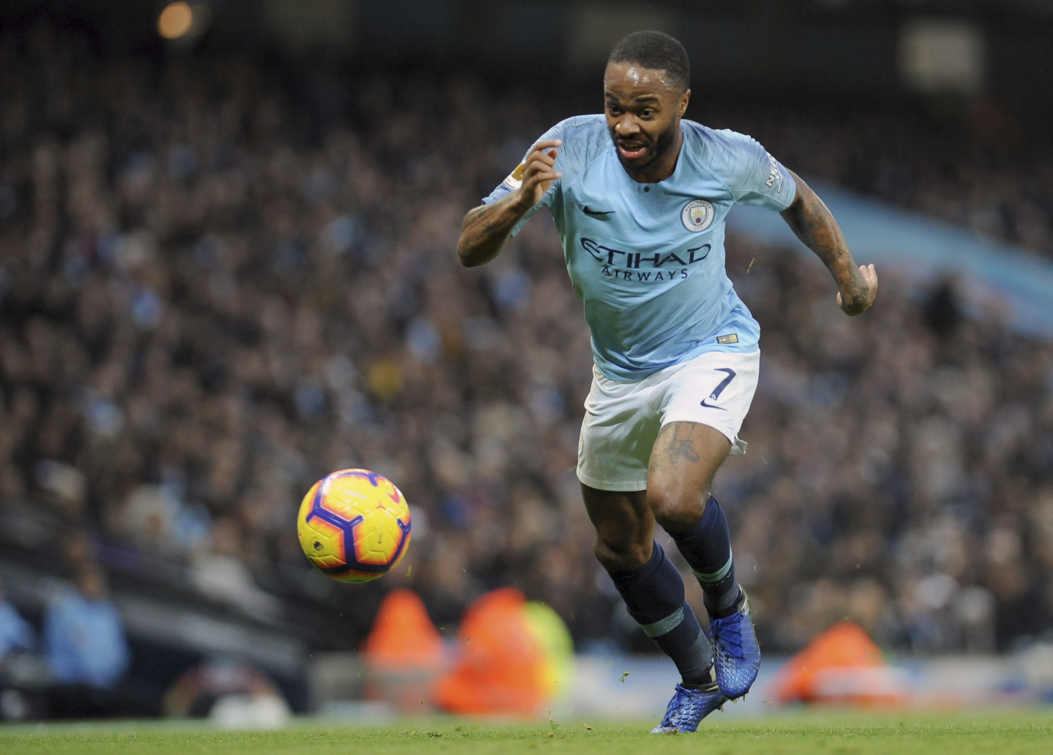 Sterling the scourge of Bournemouth again as Man City wins