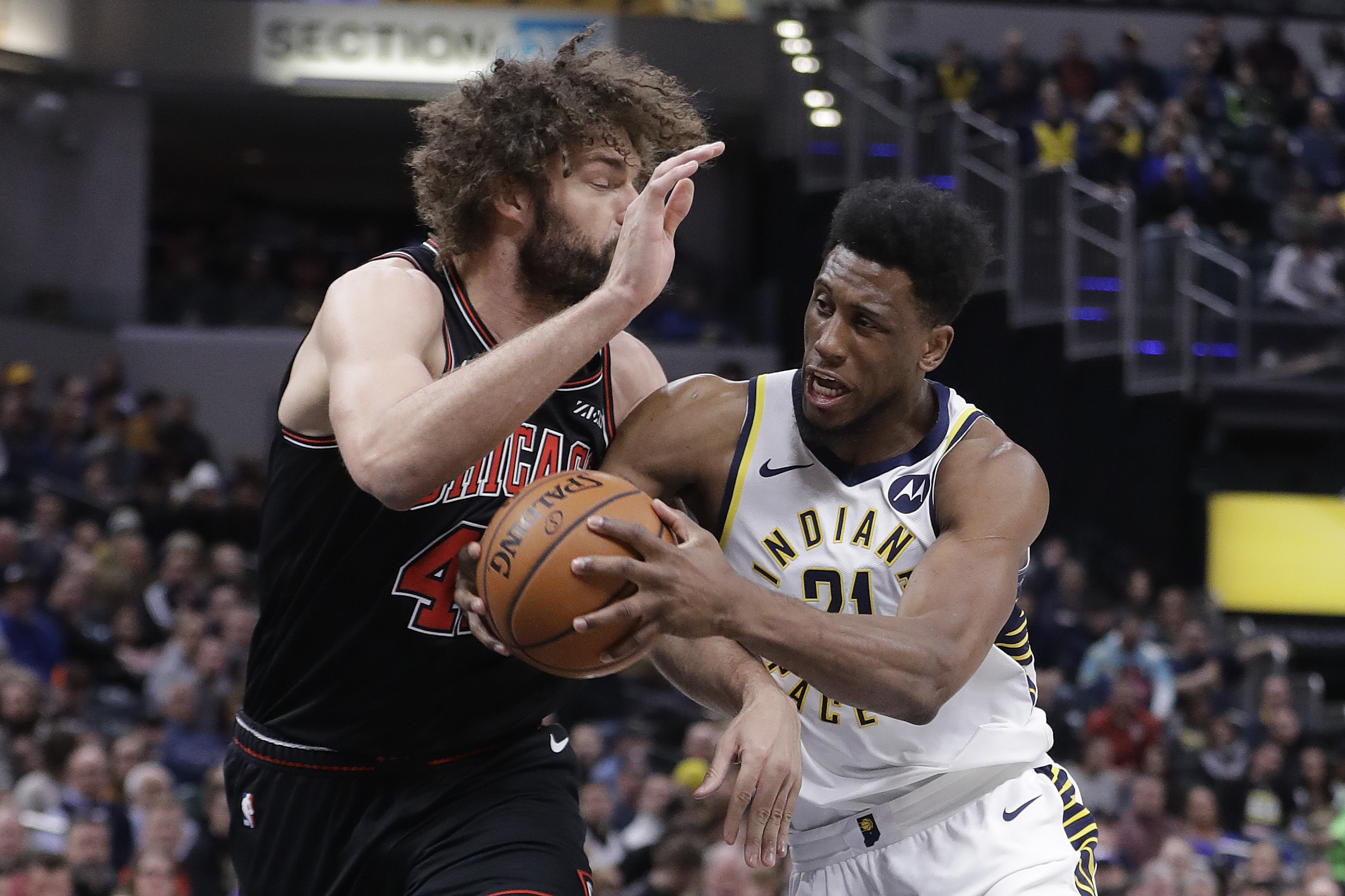 Bogdanovic leads late charge to help Pacers sweep past Bulls