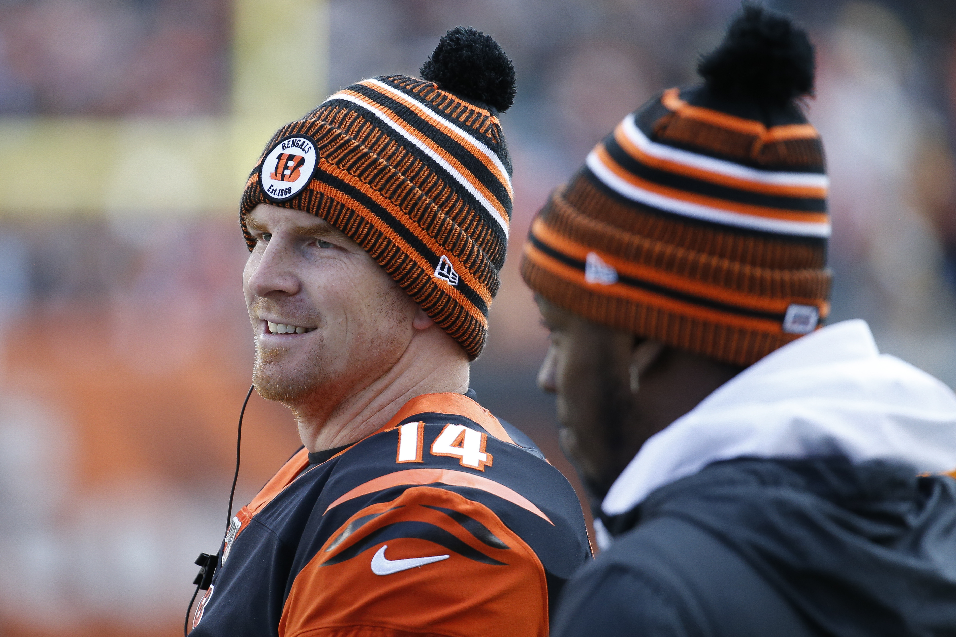 Andy Dalton past bitterness, back as Bengals starting QB