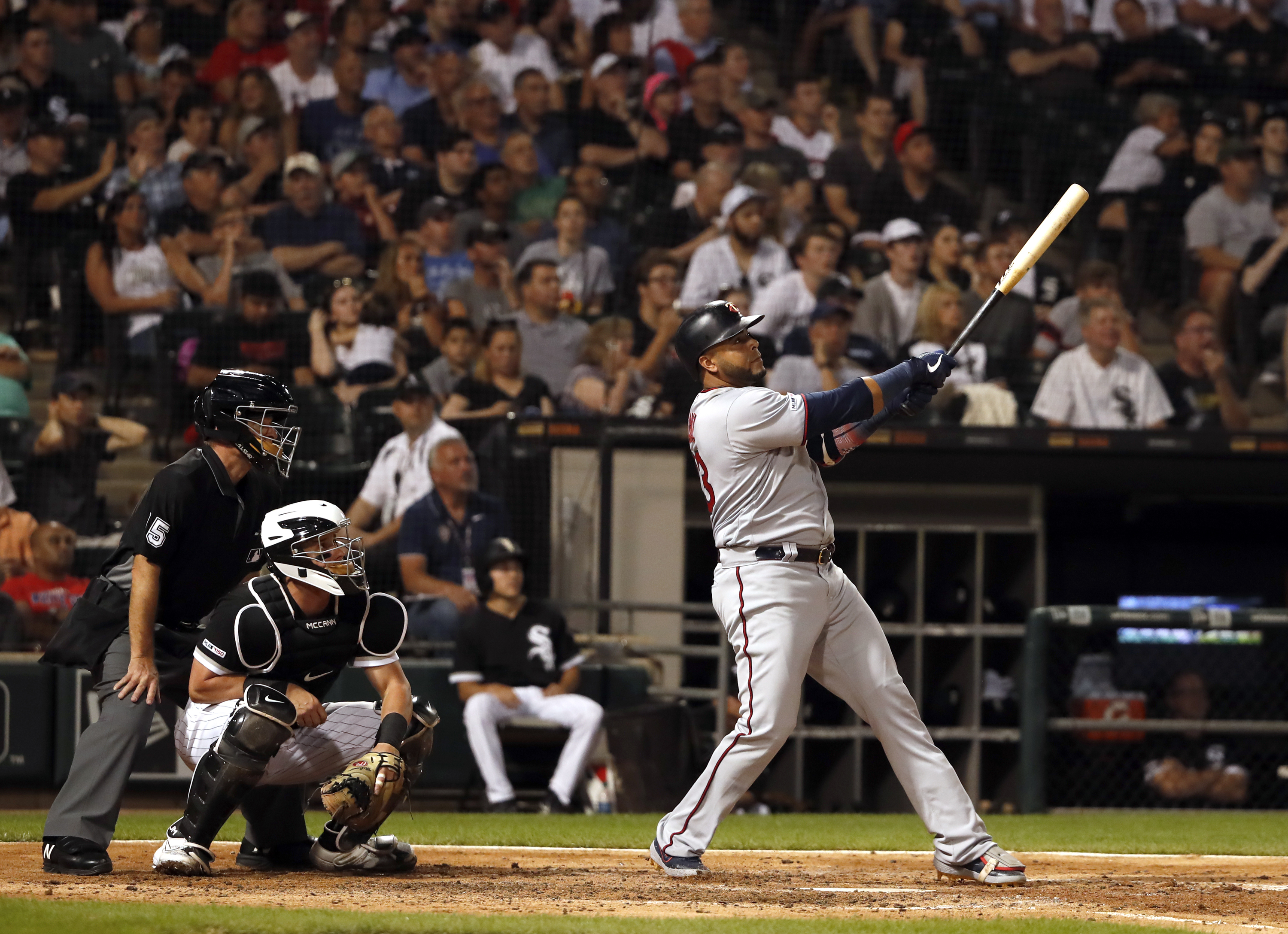 Twins slugger Nelson Cruz homers 3 times against White Sox