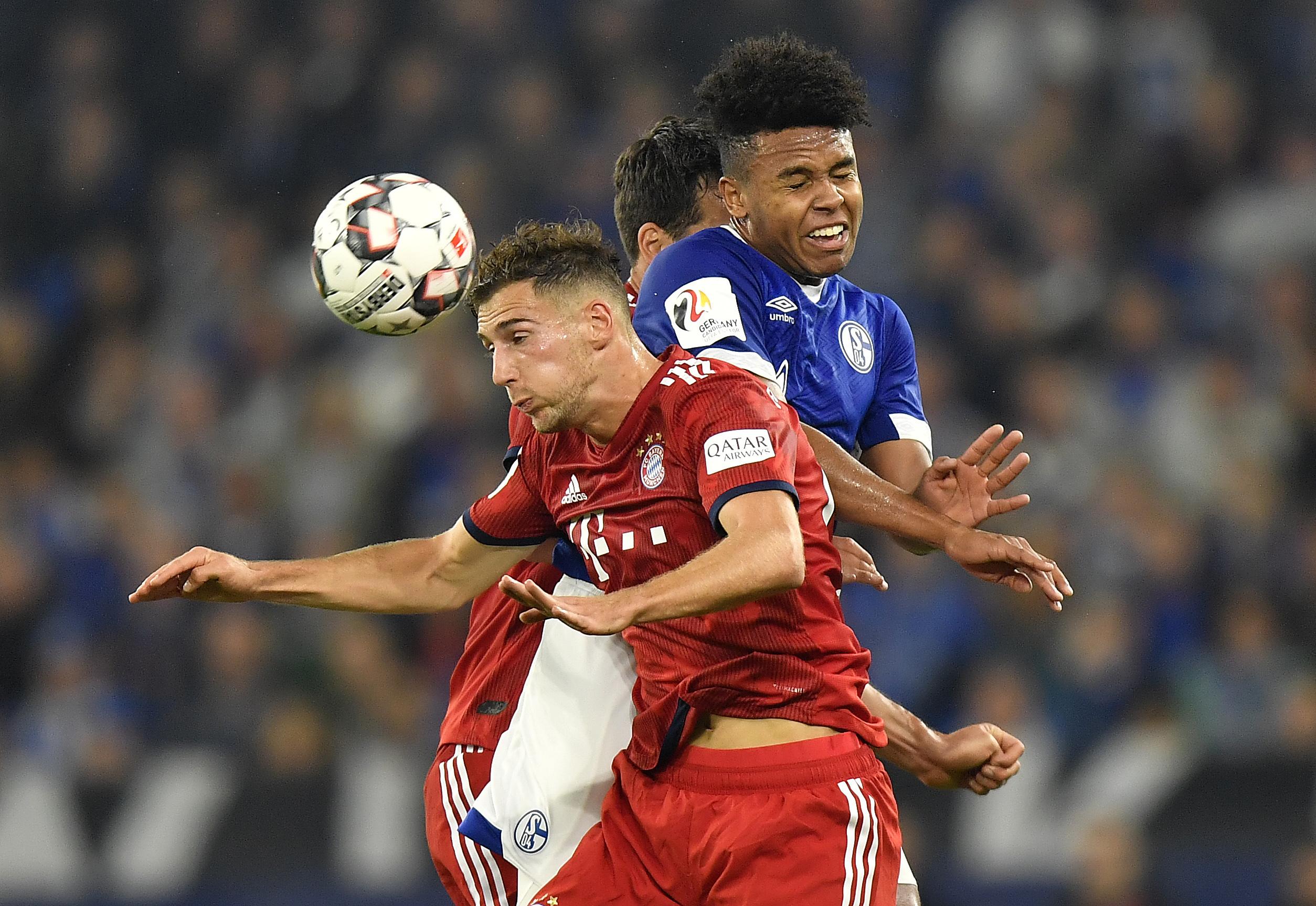 Schalke midfielder Weston McKennie injured against Bayern