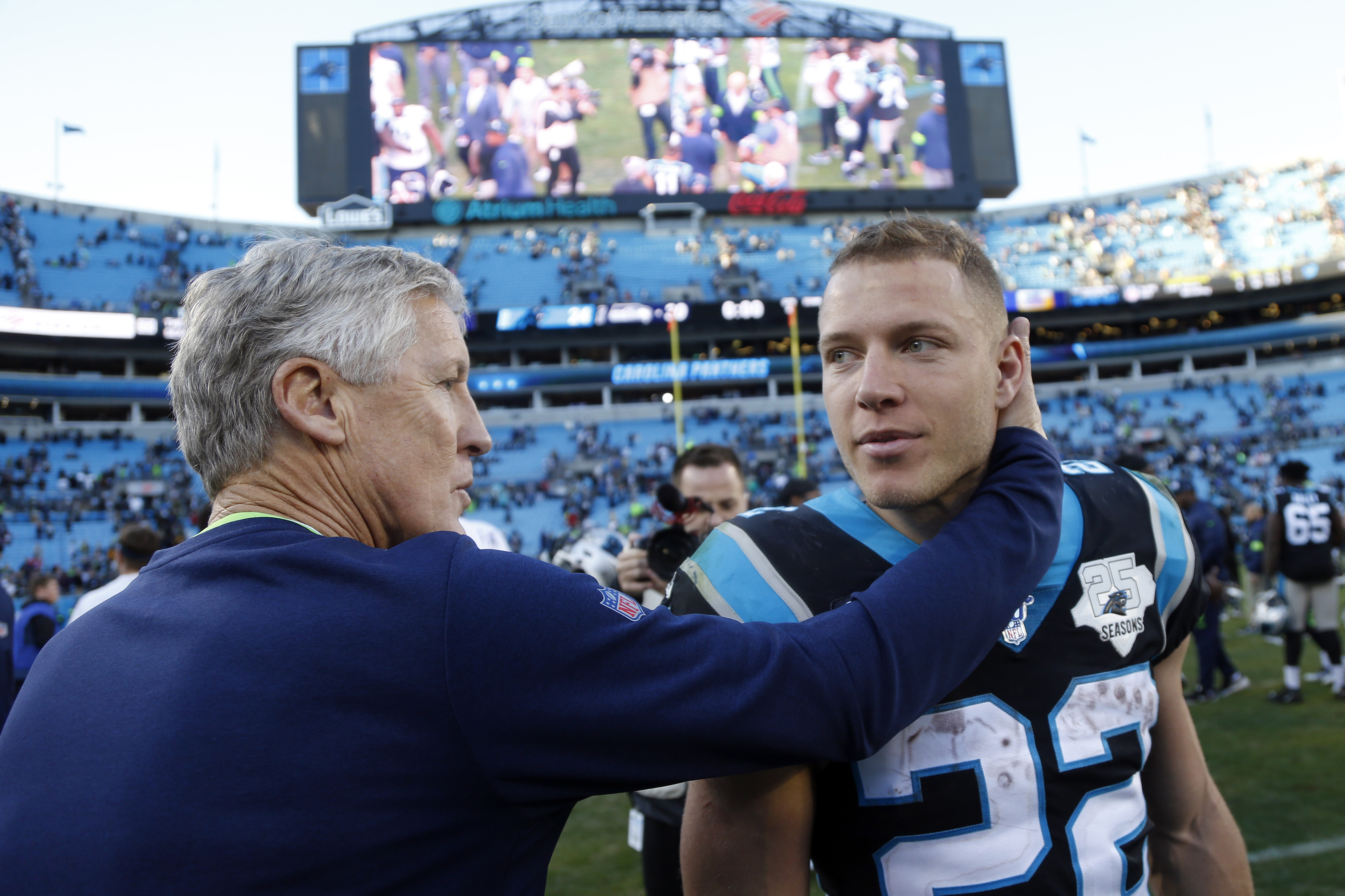 Panthers: McCaffrey's incredible season not all for naught