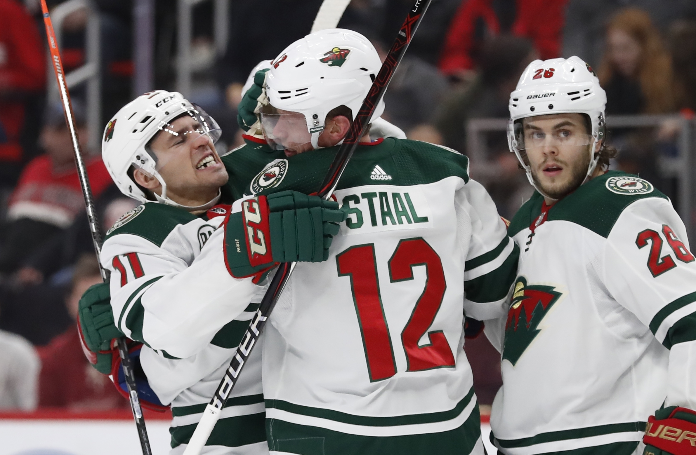 Wild keep Staal at deadline, reach 2-year, $6.5M extension
