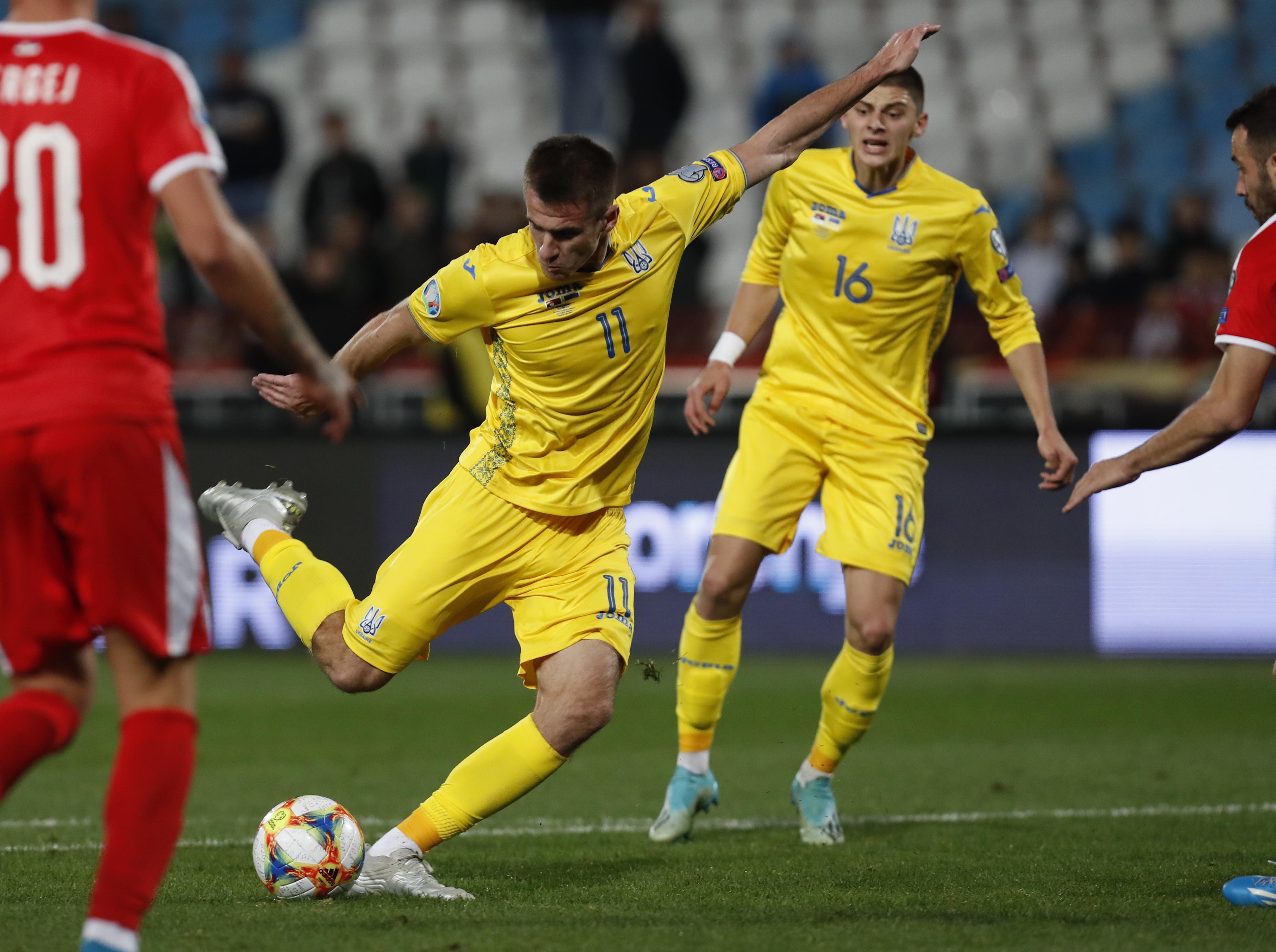 Dynamo Kyiv striker faces doping charge