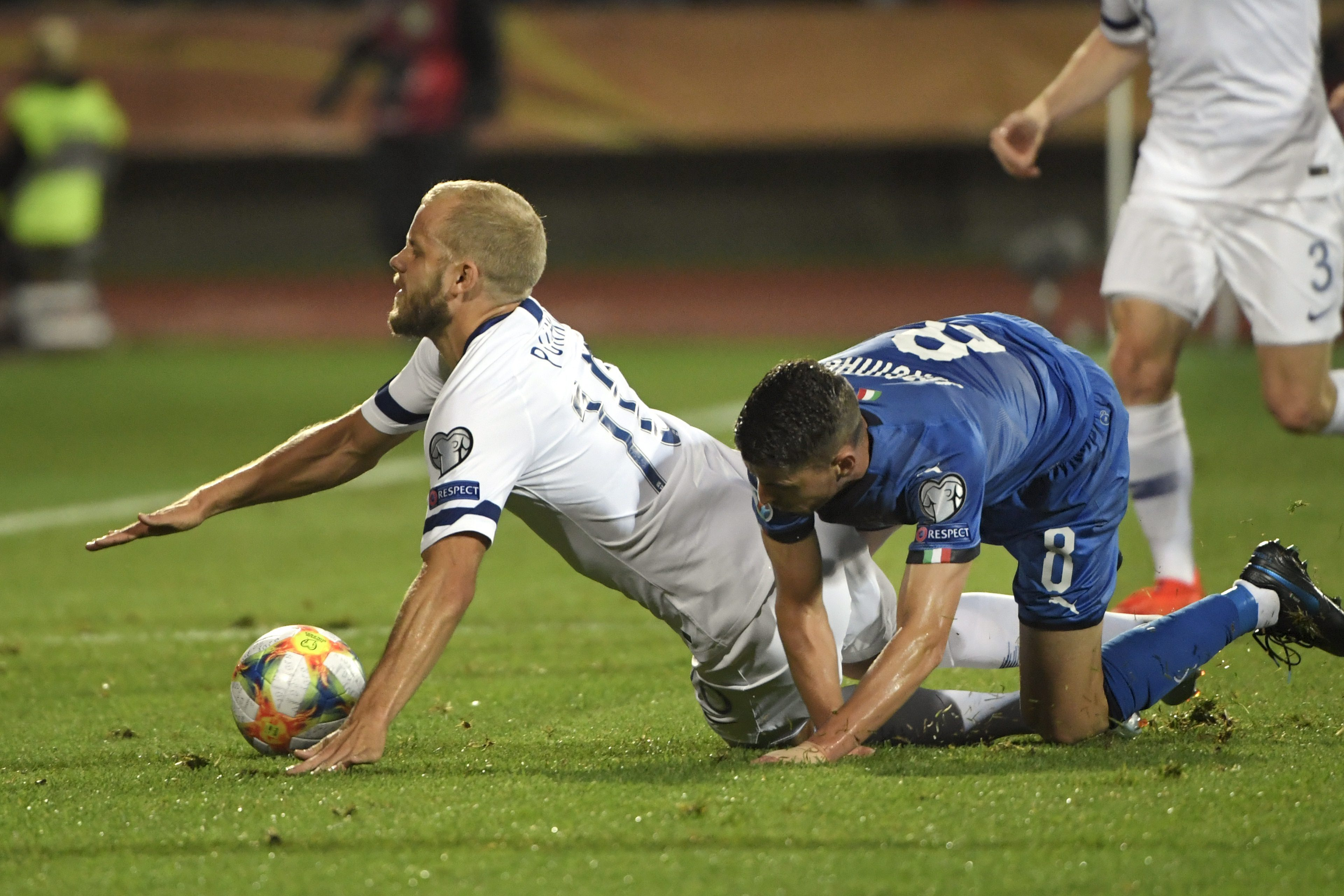 Pukki scores again but Italy stays perfect in Finland