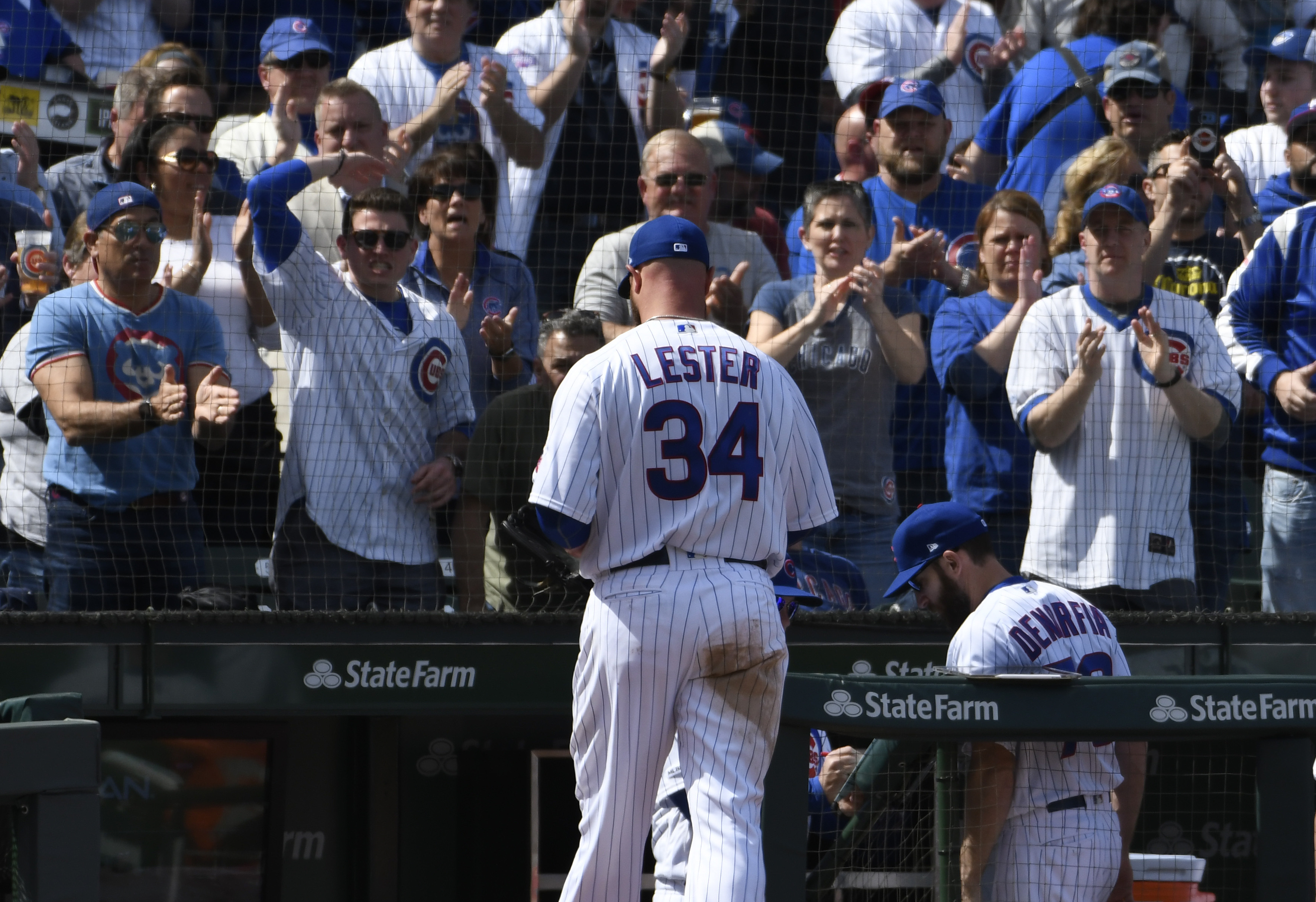 Cubs place ace Lester on 10-day injured list, recall Collins