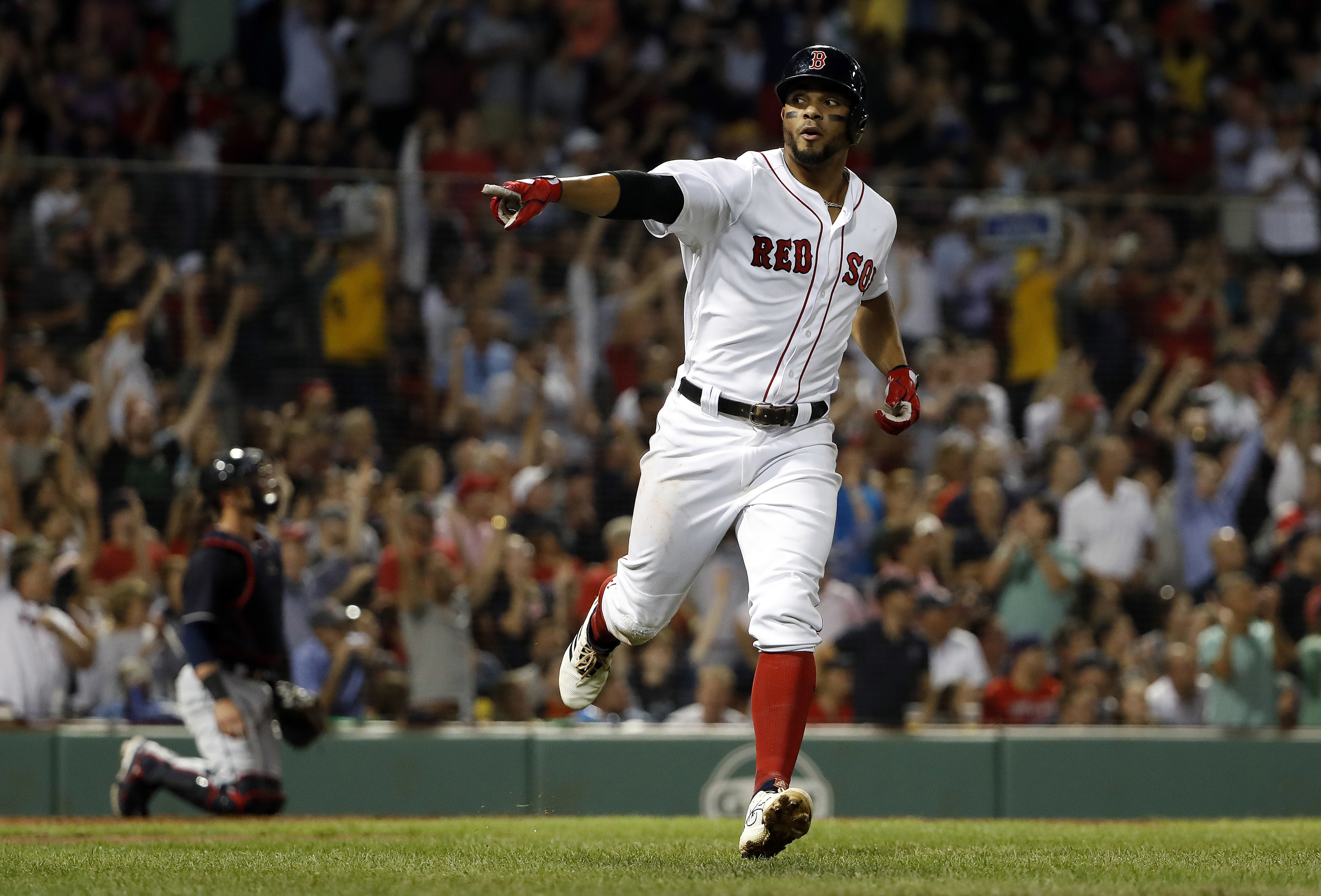 Bogaerts hits 2 solo HRs, Red Sox beat Indians 10-4