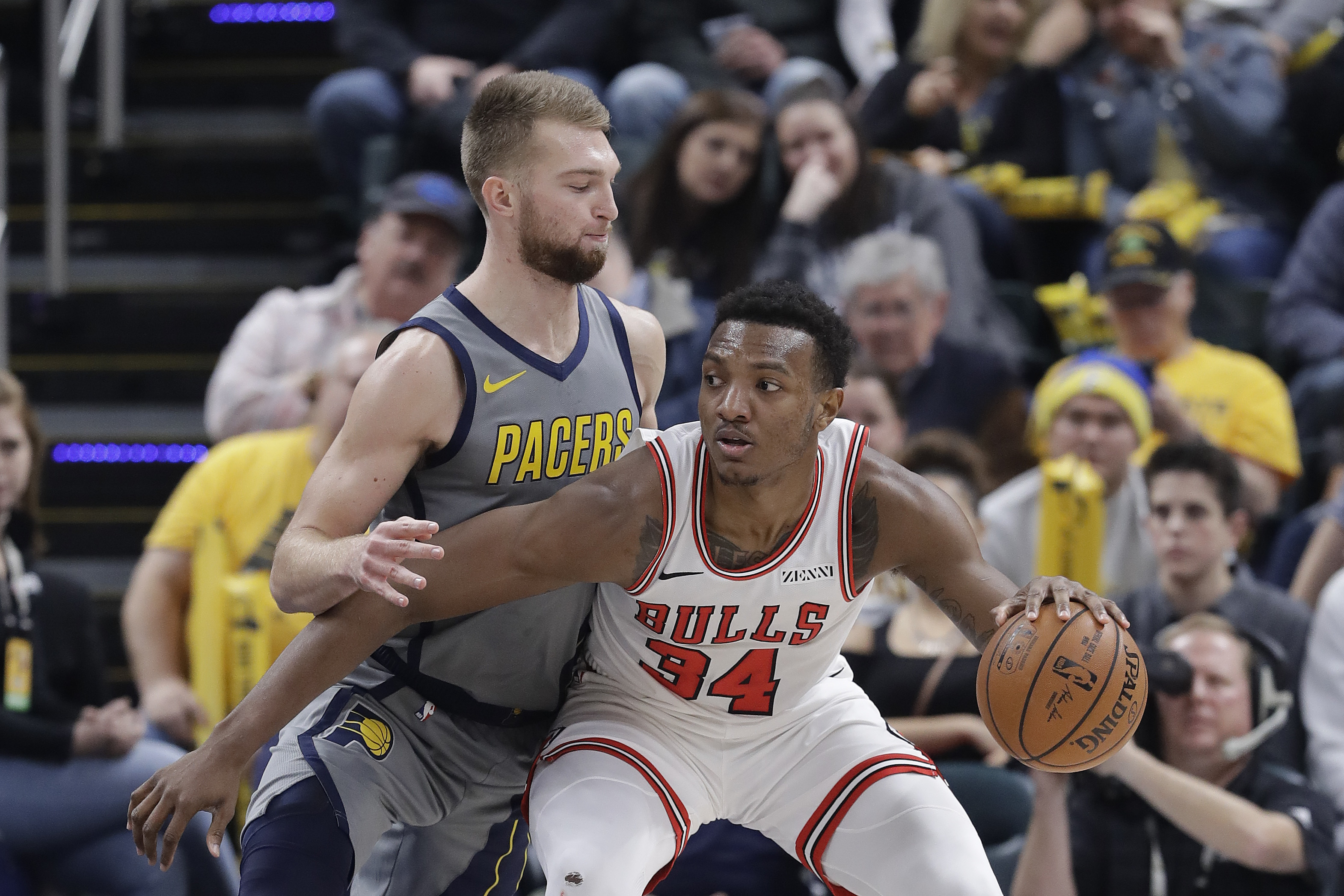 Turner's double-double leads Pacers past Bulls 96-90