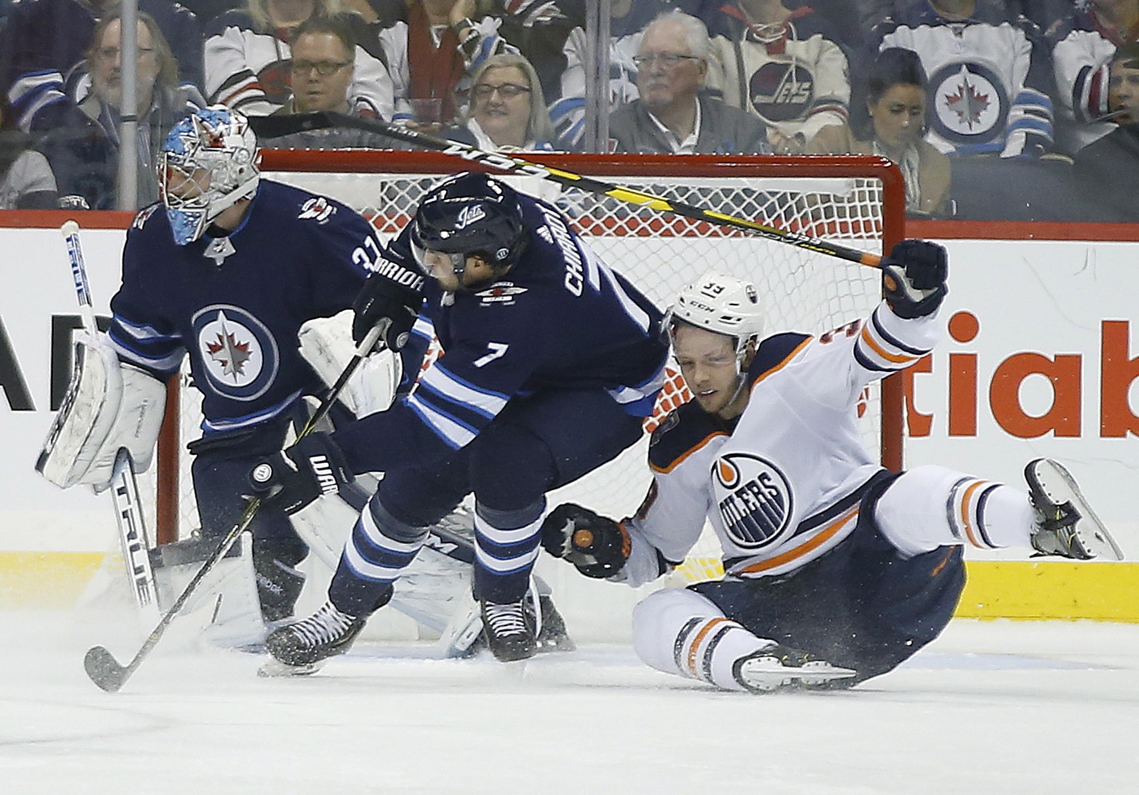 Josh Morrissey scores in OT, Jets beat Oilers 5-4