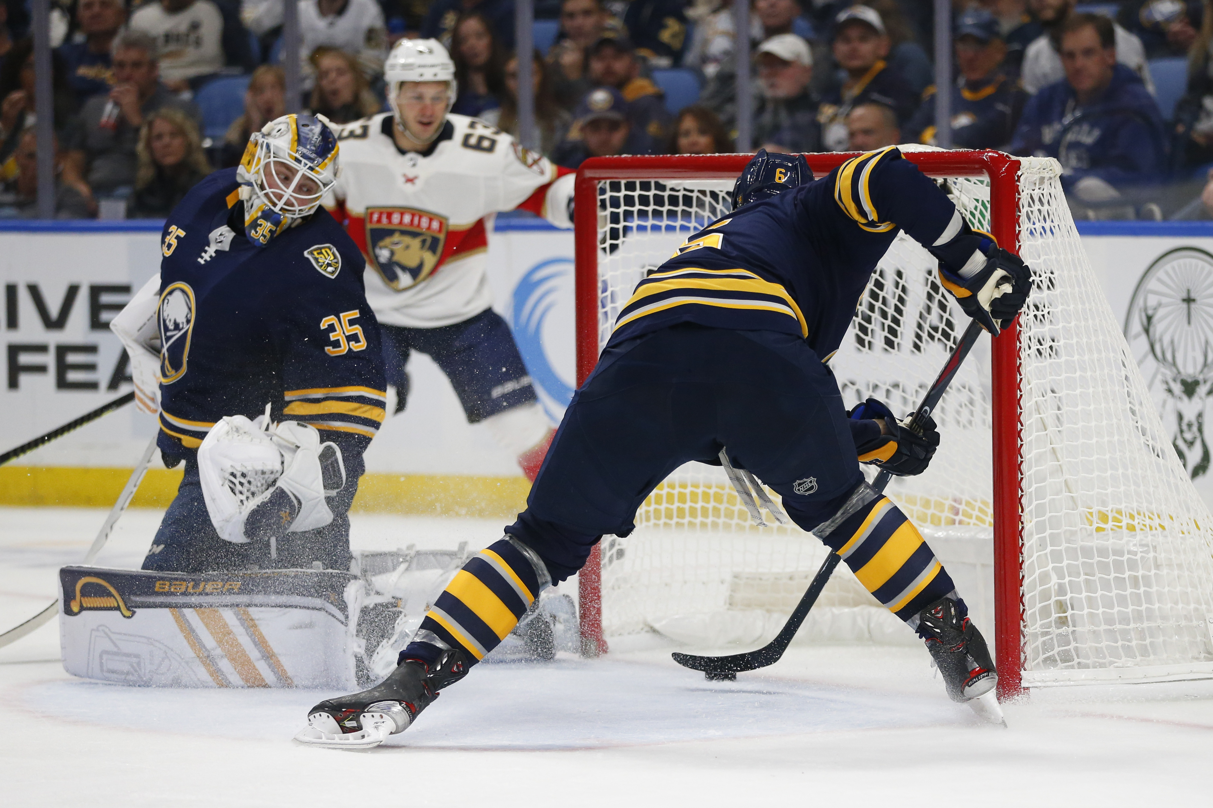 Mittelstadt seals Sabres 3-2 shootout win over Panthers
