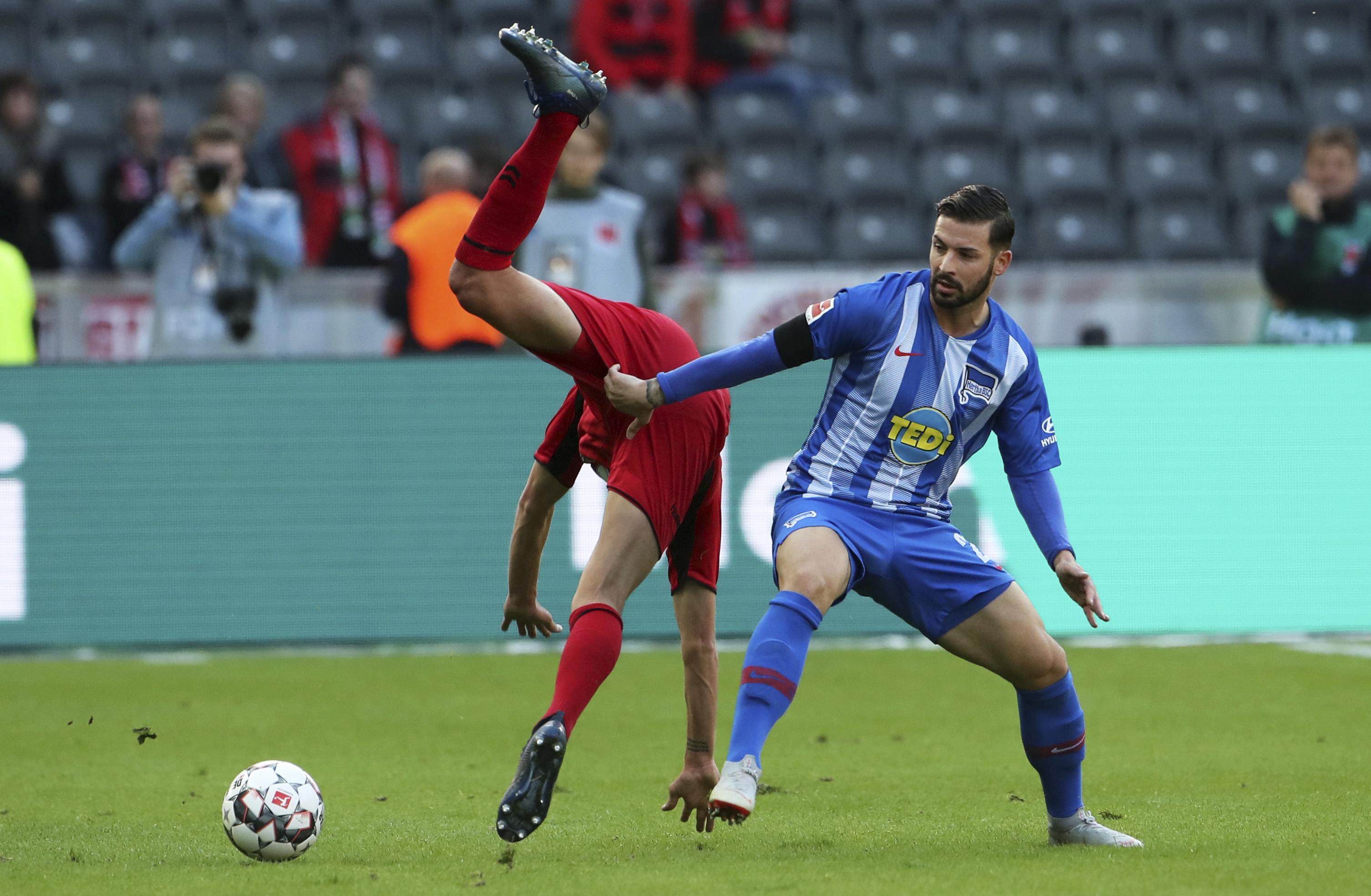 Hertha held by Freiburg after VAR overturns penalty award