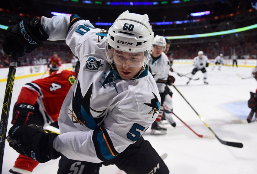 San Jose Sharks Lose Road Trip Finale at Chicago Blackhawks
