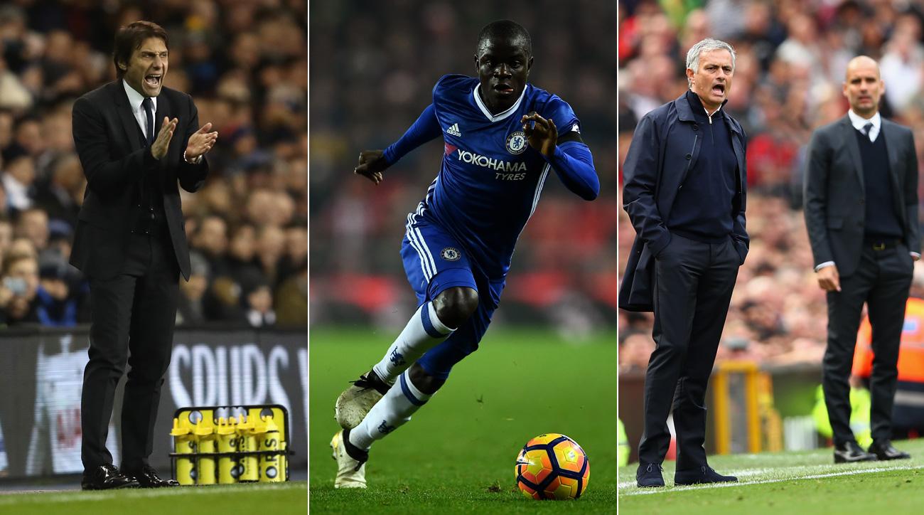 Premier League midseason awards: Chelsea's Conte, Kante make most difference