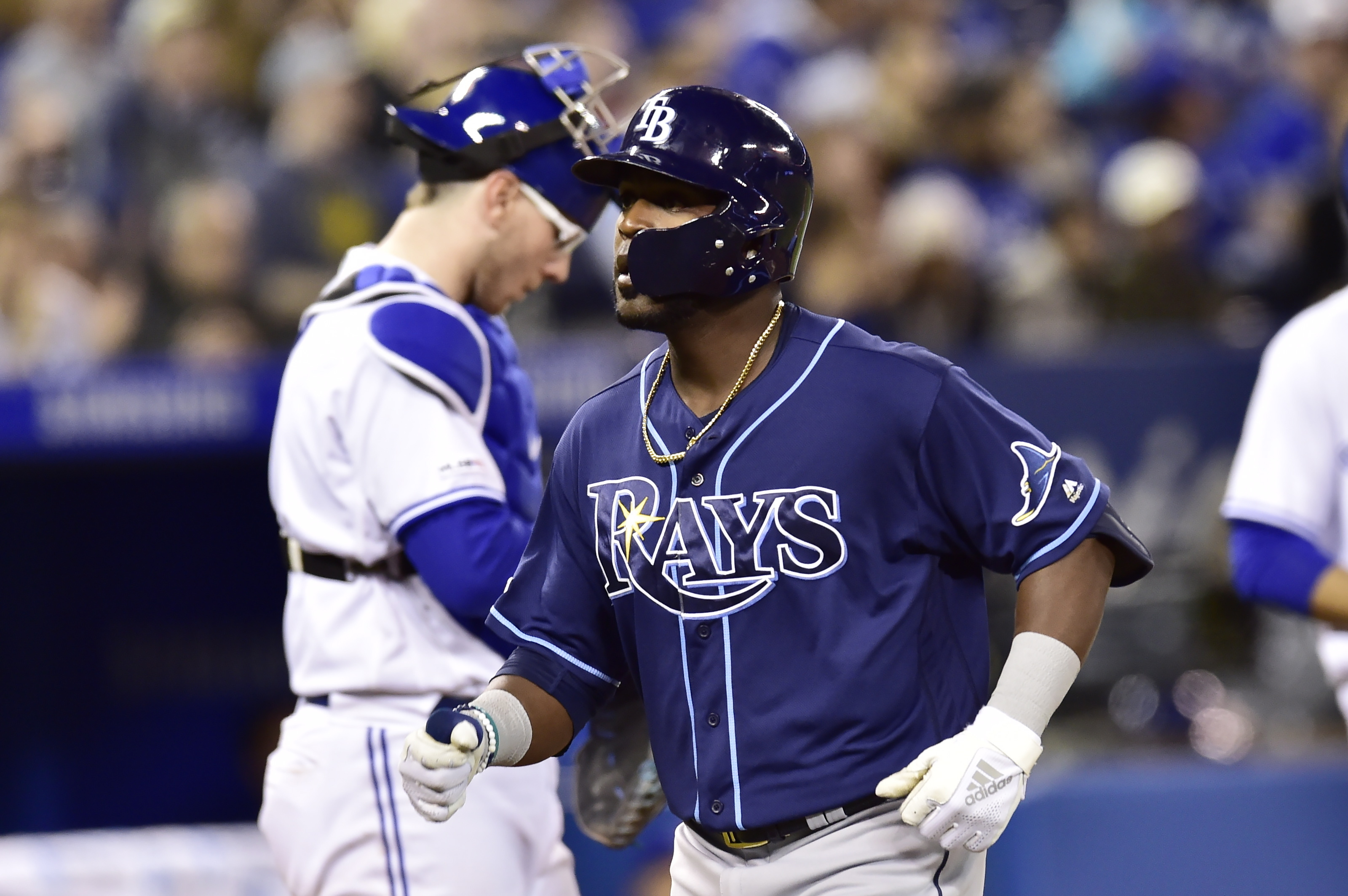 Heredia homers as Rays top Jays 8-4, win 5th straight series