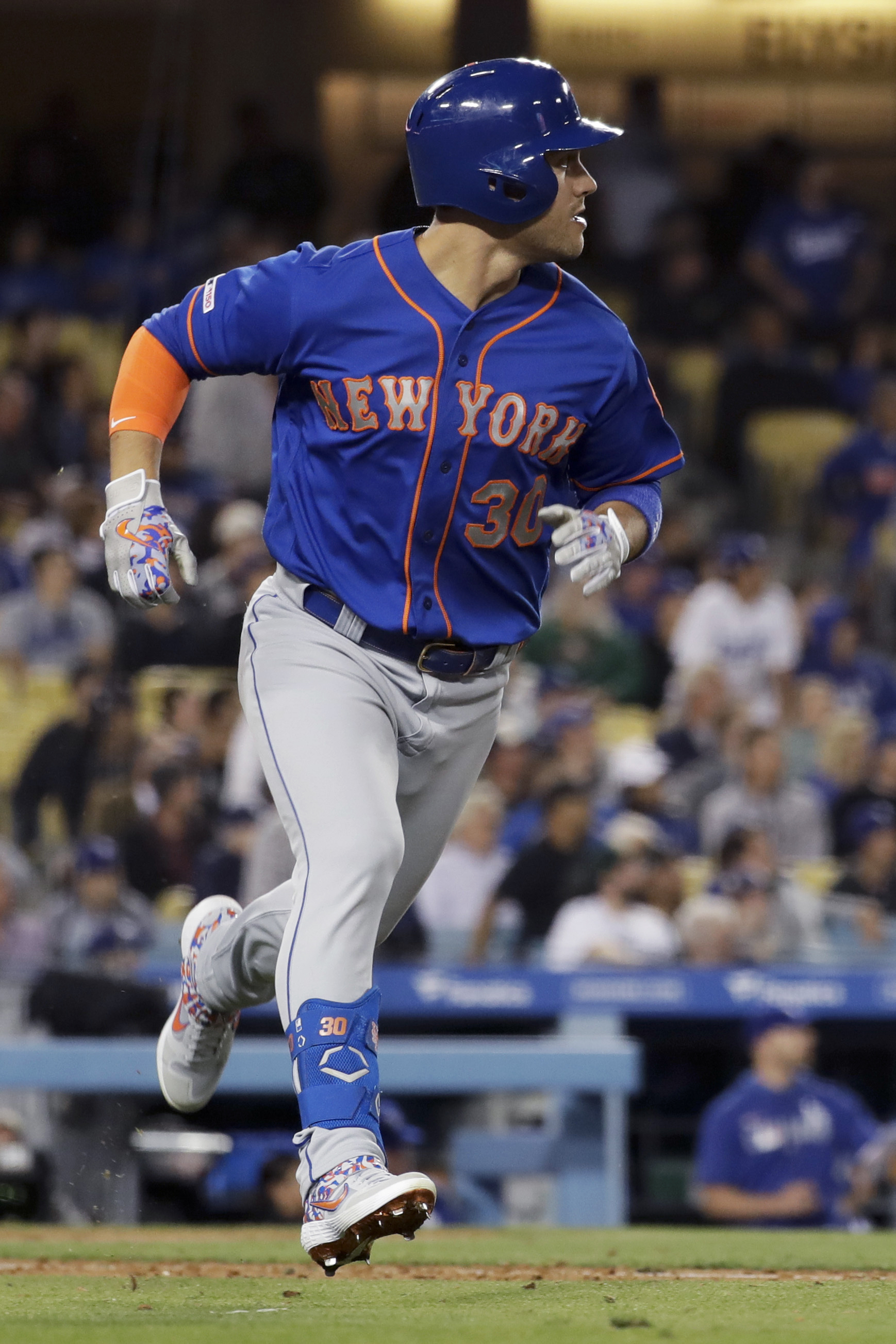 Conforto's grand slam sends Mets past Dodgers 7-3