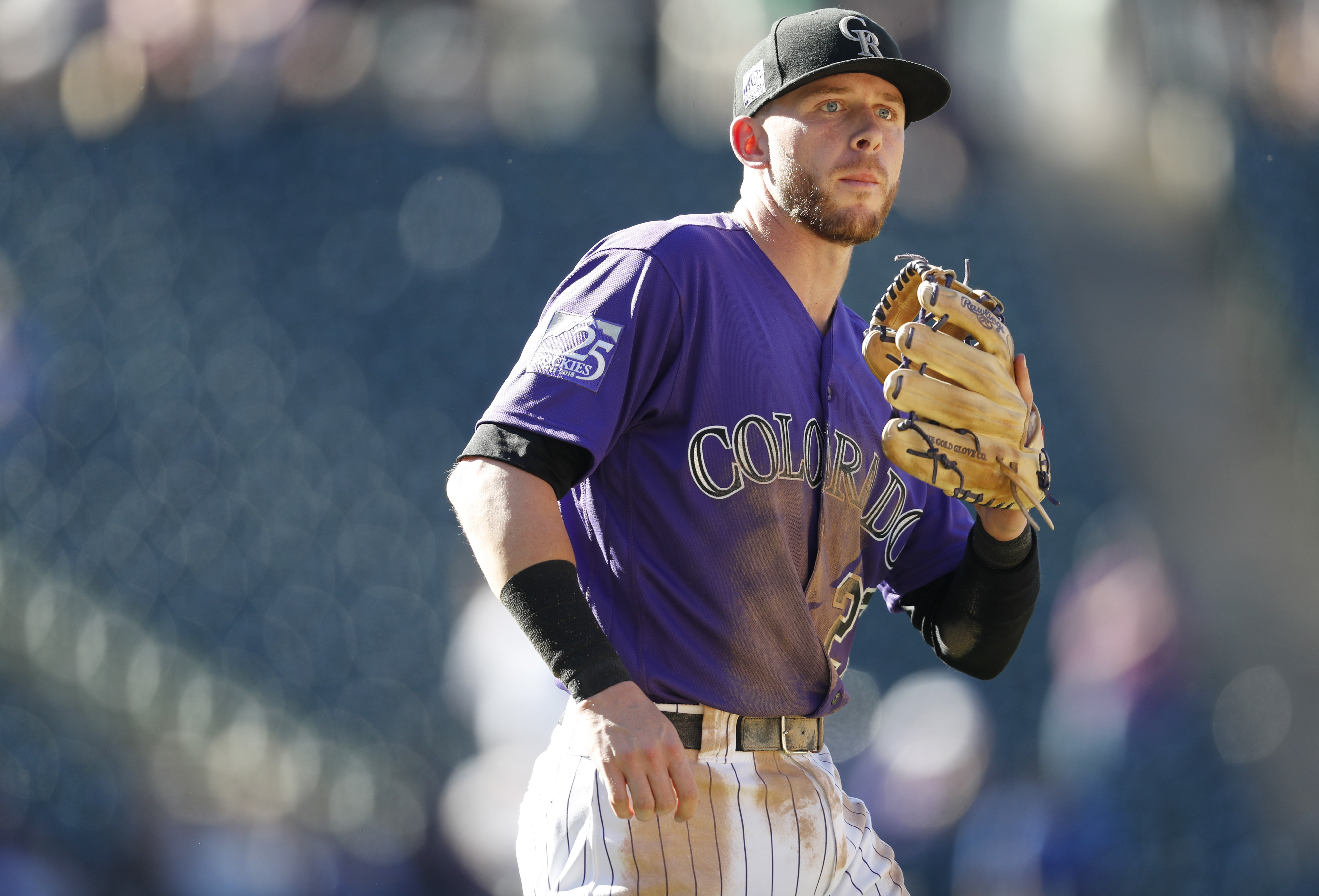 Story returns to lineup for playoff-chasing Rockies
