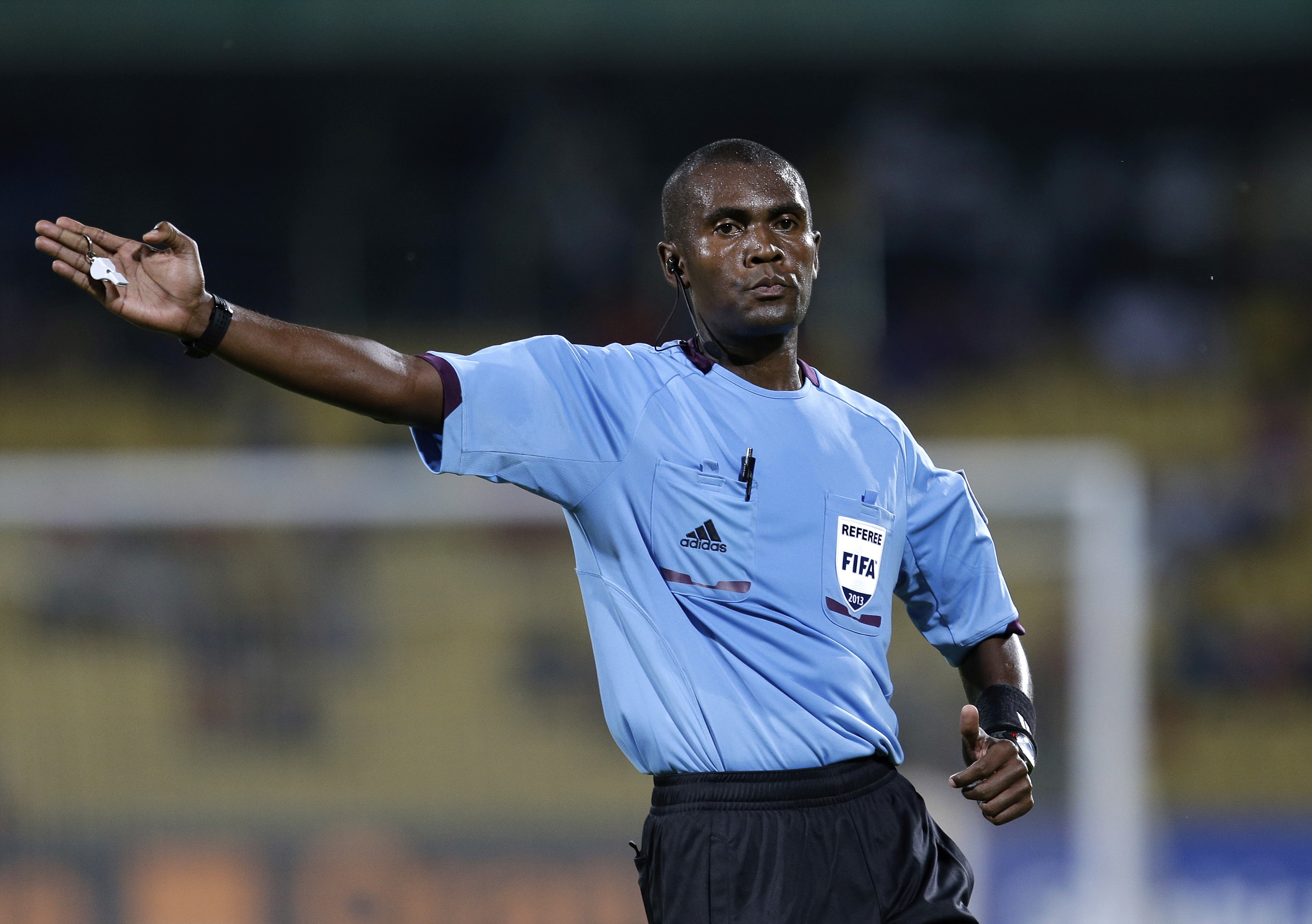 7 'corrupted' African soccer refs banned, 14 suspended